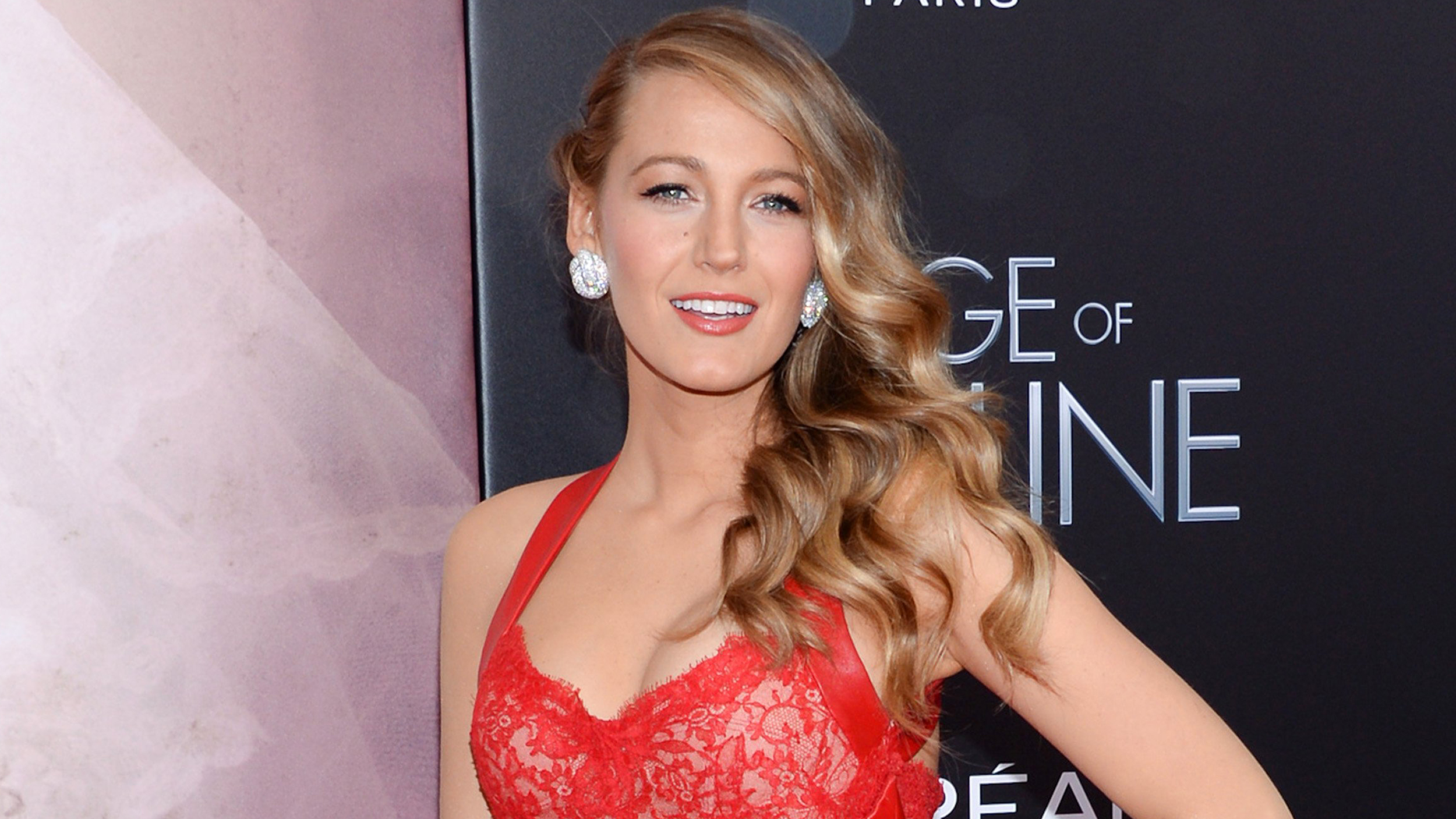 Blake Livelys Bronde Hair Color Was An Accident