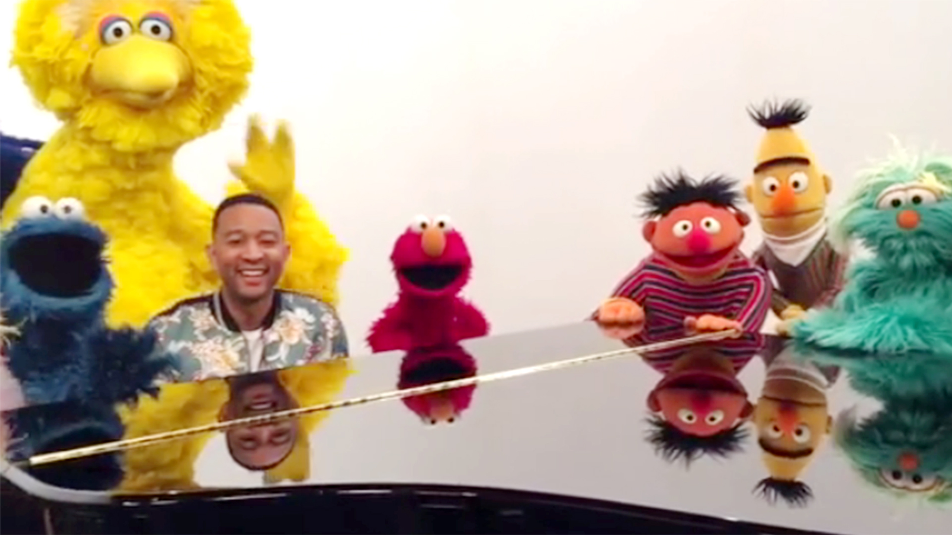 John Legend's 'Sesame Street' message to baby Luna has Chrissy
