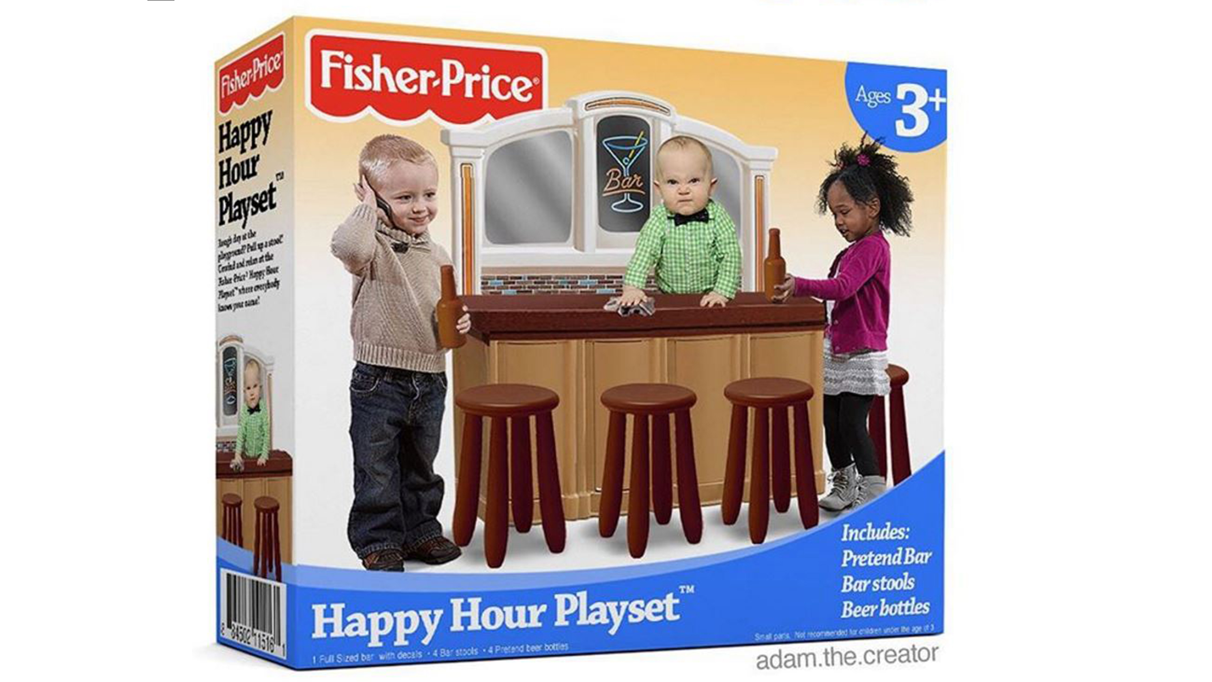 Tiny Home Kit Fisher Price Assures Parents No That Happy Hour Playset