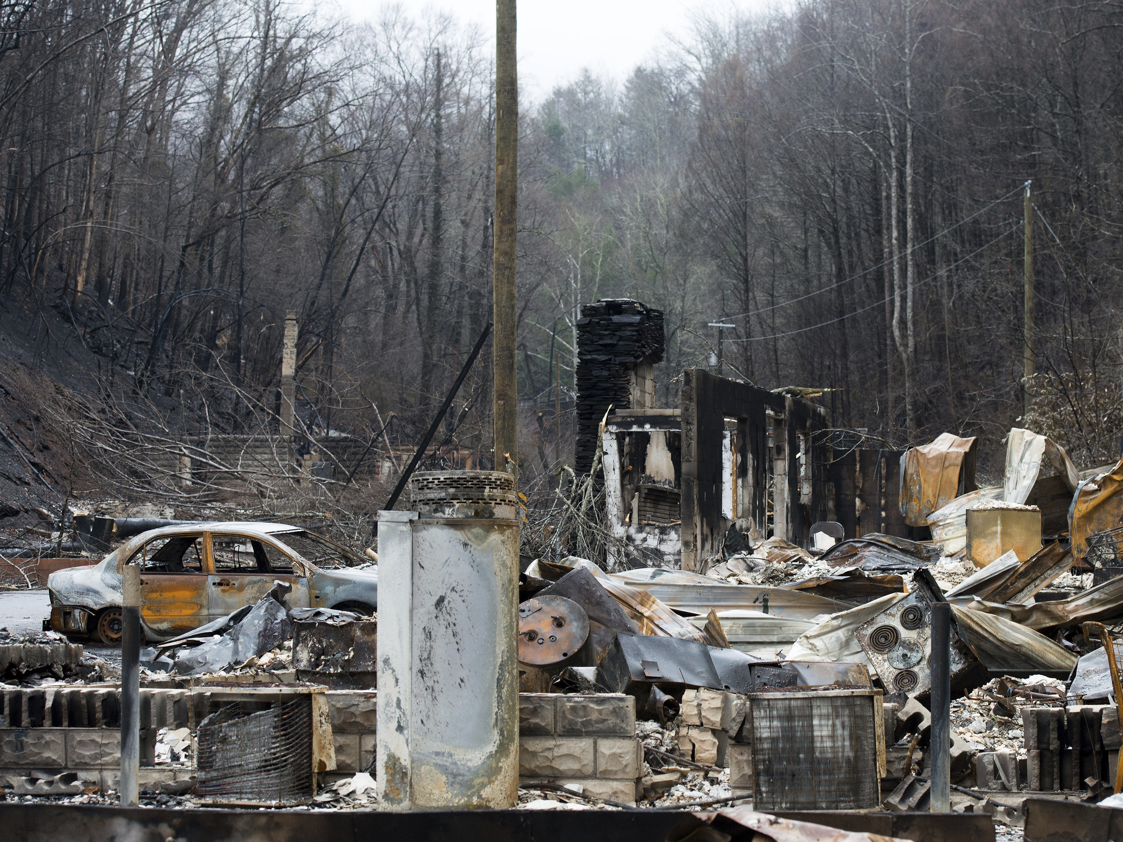 Two Juveniles Charged in Deadly Tennessee Wildfires