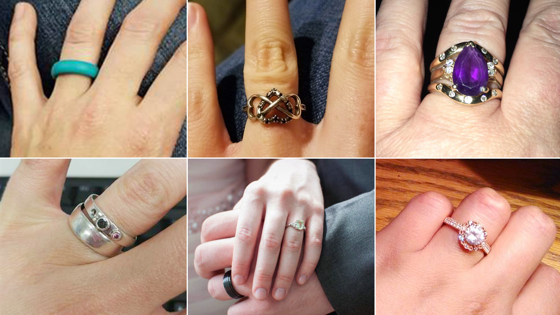 Bride Defends Her 130 Engagement Rings People Swamp With Comments