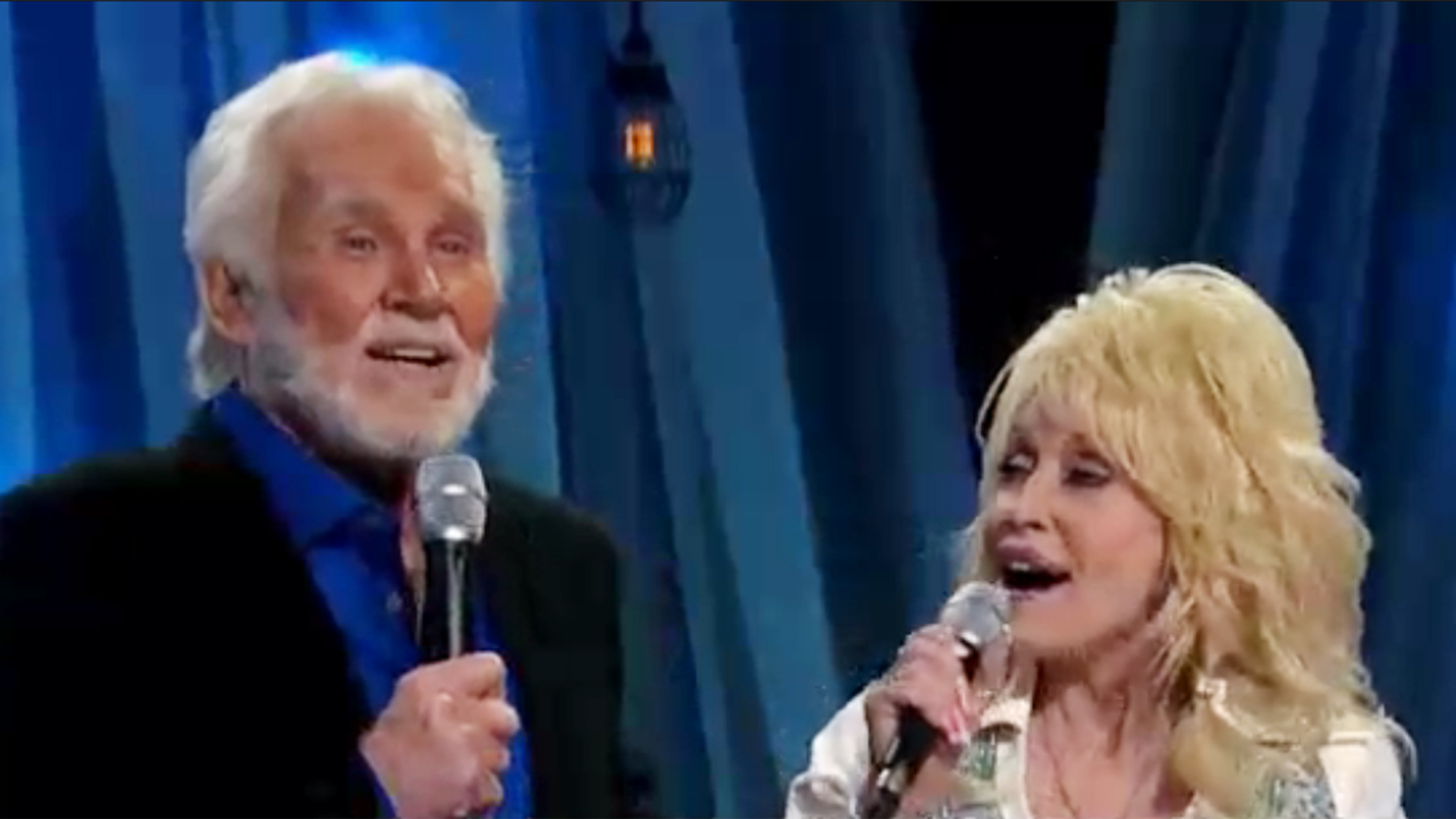 Kenny Rogers Duet With Dolly Parton Islands In The Stream