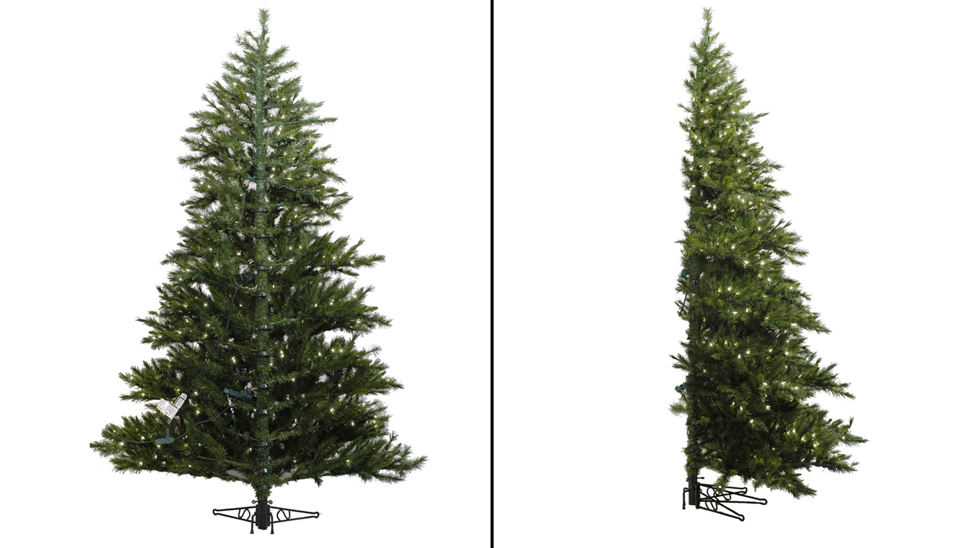Half Artificial Christmas Trees