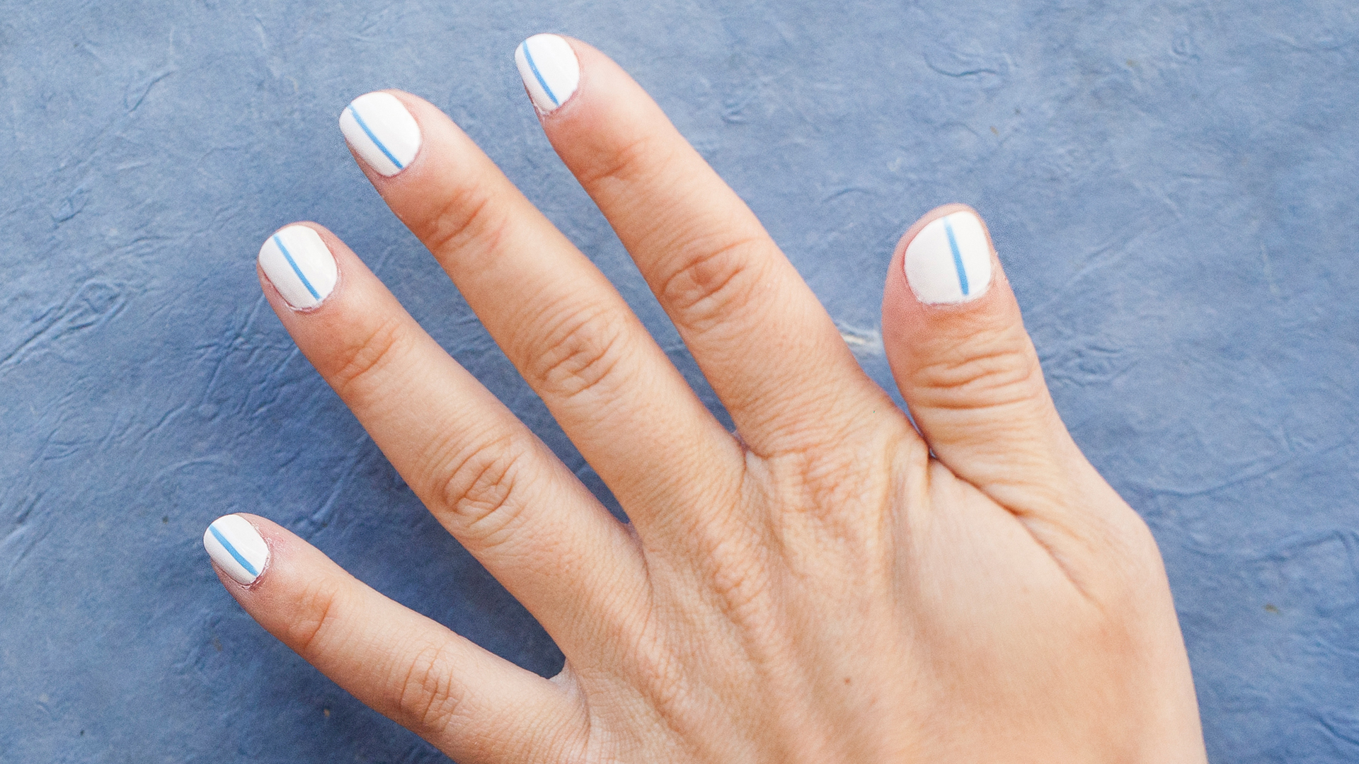Vertical Stripes Tutorial Easy Minimalist Nail Art To Try Now