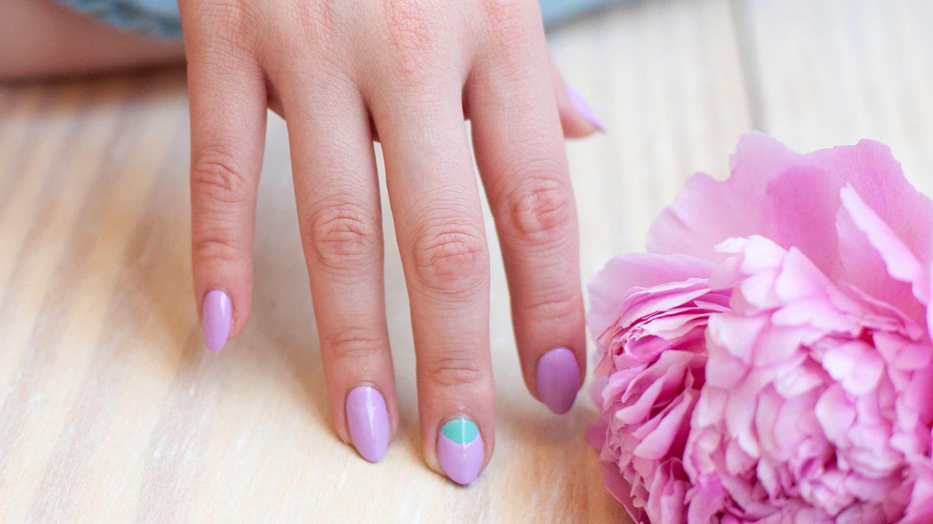 Nail art trend to try now: Half-moon nail tutorial