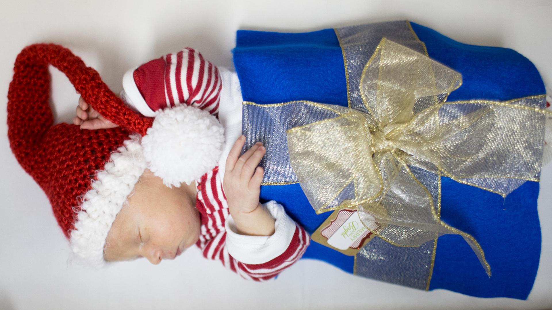 NICU babies dressed as adorable