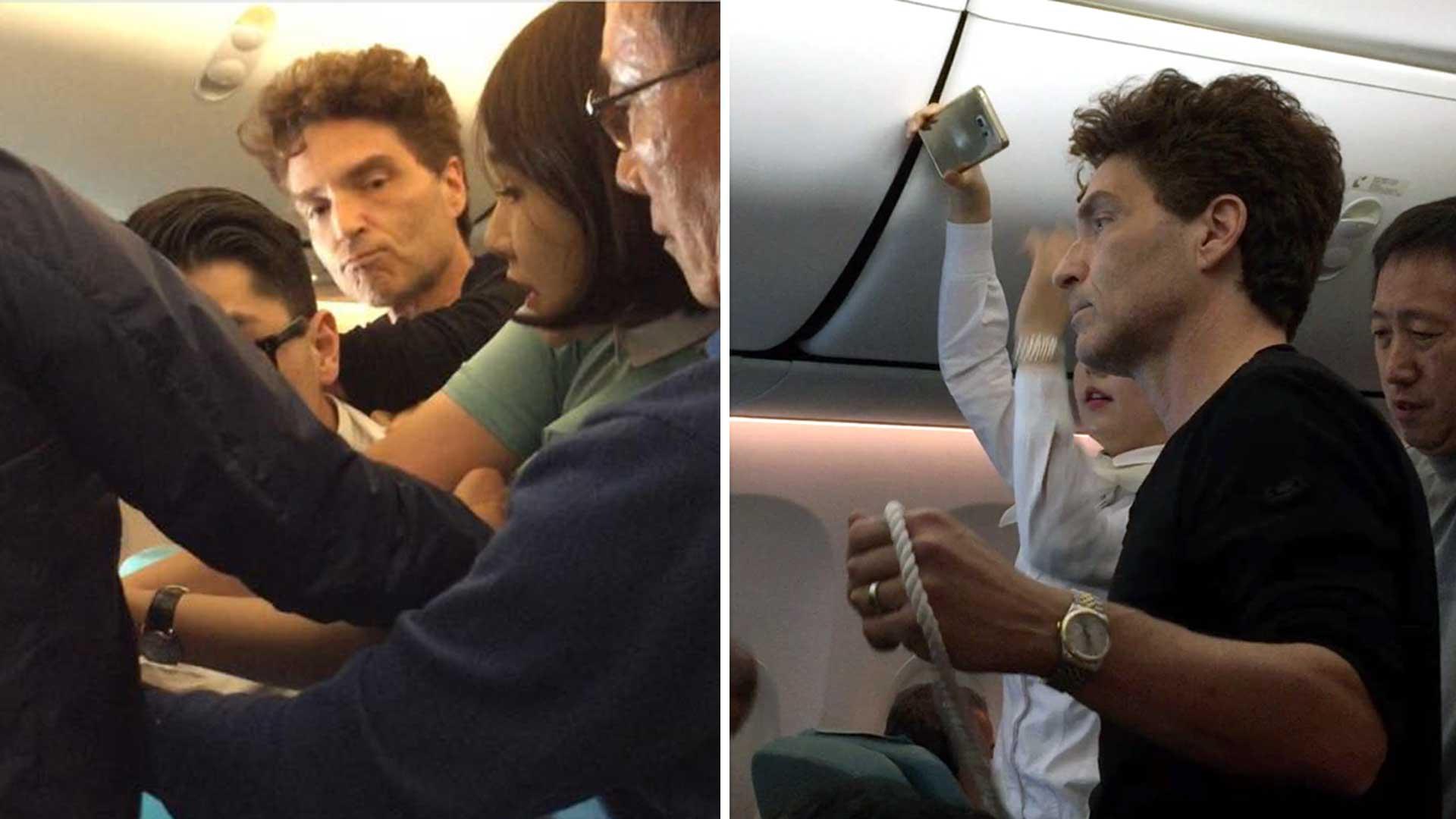 Richard Marx Helps Subdue Unruly Passenger On Korean Air