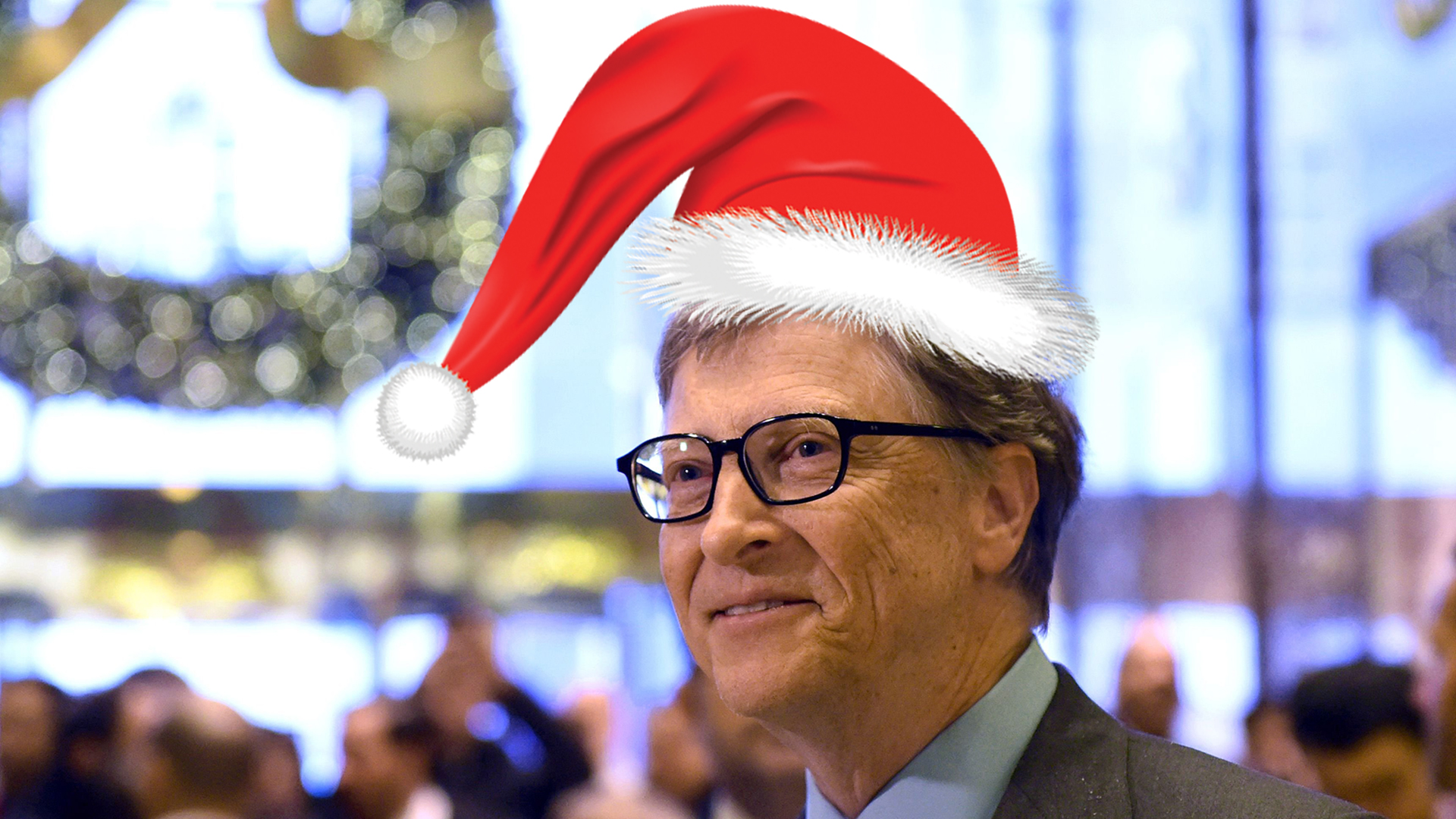Bill Gates All Car >> Bill Gates as Secret Santa? See redditor's amazing gift haul - TODAY.com