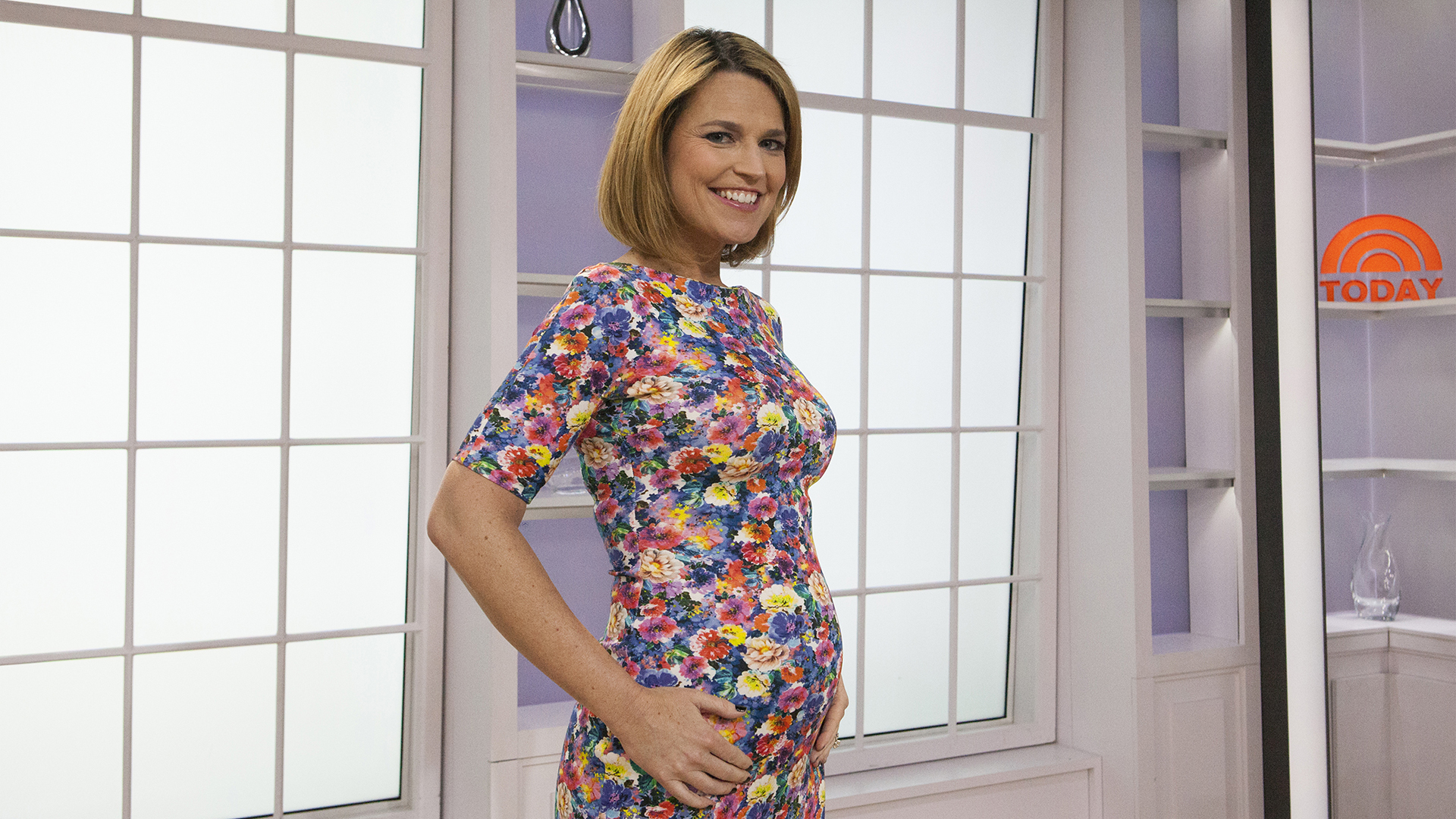 65e28a7f15c8c Savannah Guthrie: Tackling maternity fashion