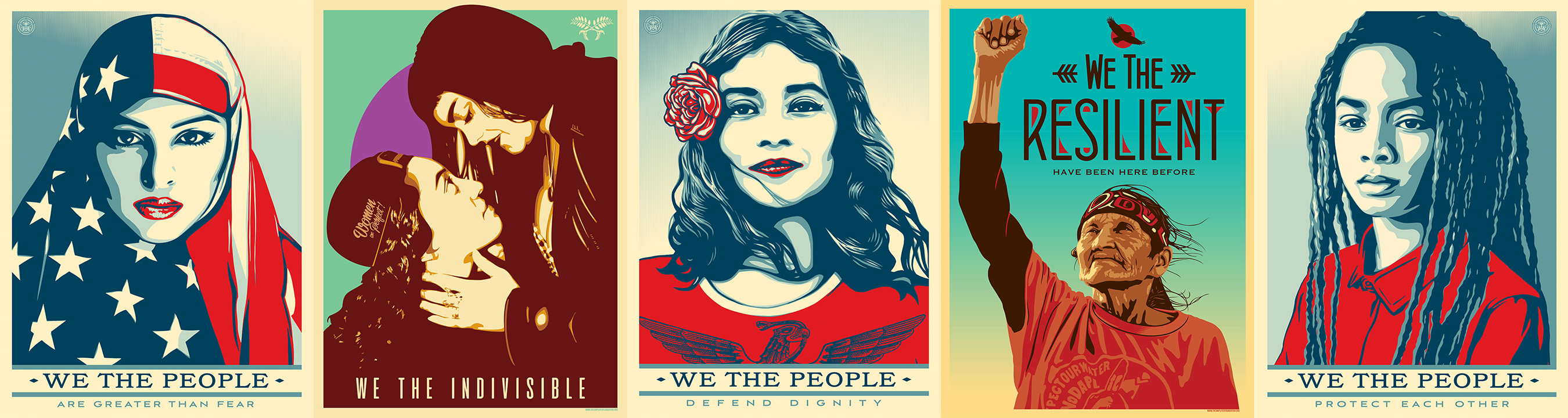 we the people public art series plans to infiltrate the inauguration