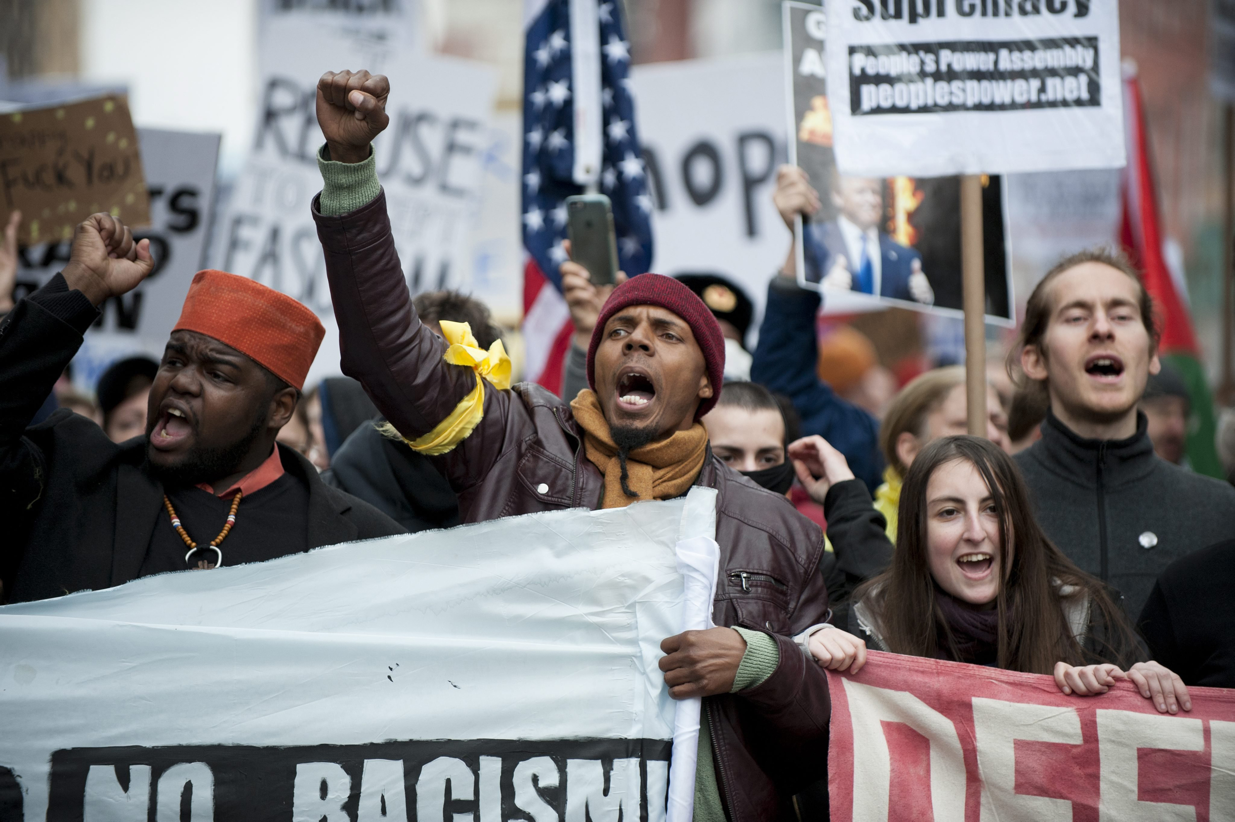 D.C. Faces More Anti-Trump Protests After Day Of Rage
