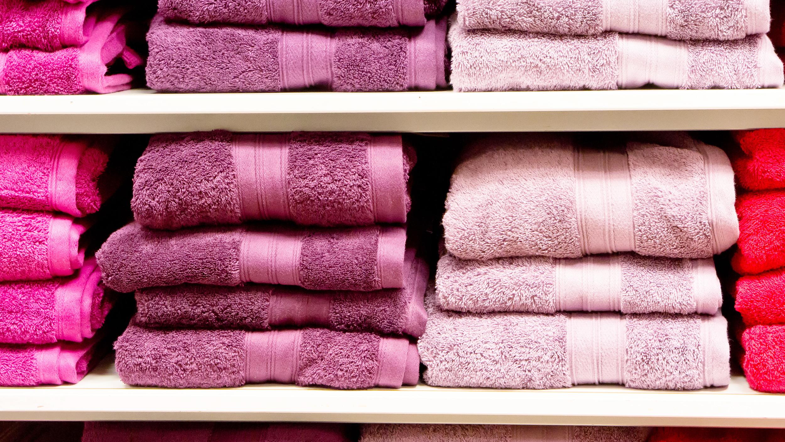 How often should you wash bath towels?
