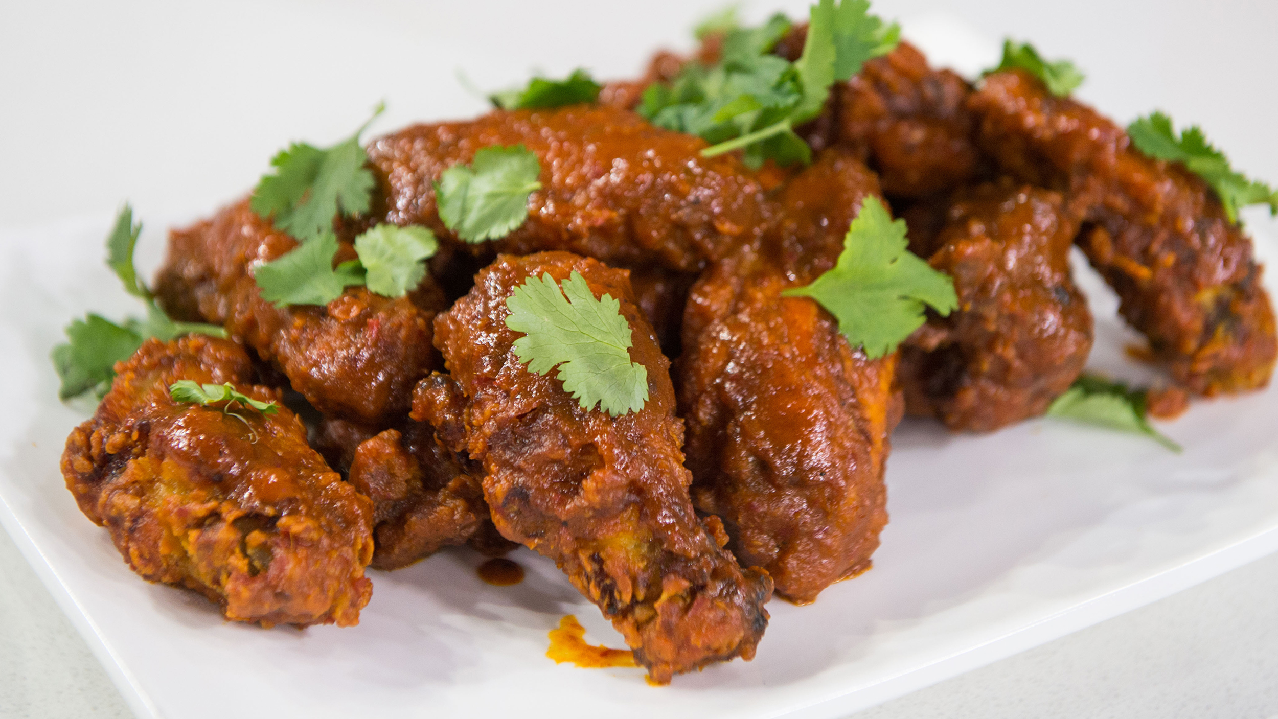 Jamaican curry chicken wings