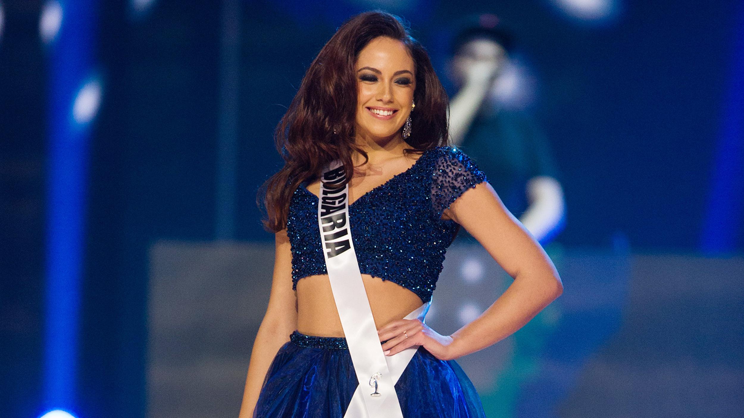 Miss Bulgaria Violina Ancheva donates Miss Universe dress ...