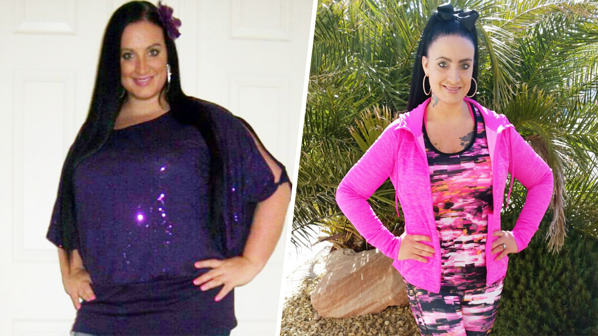 Walking 100,000 steps a week helps woman lose 80 pounds
