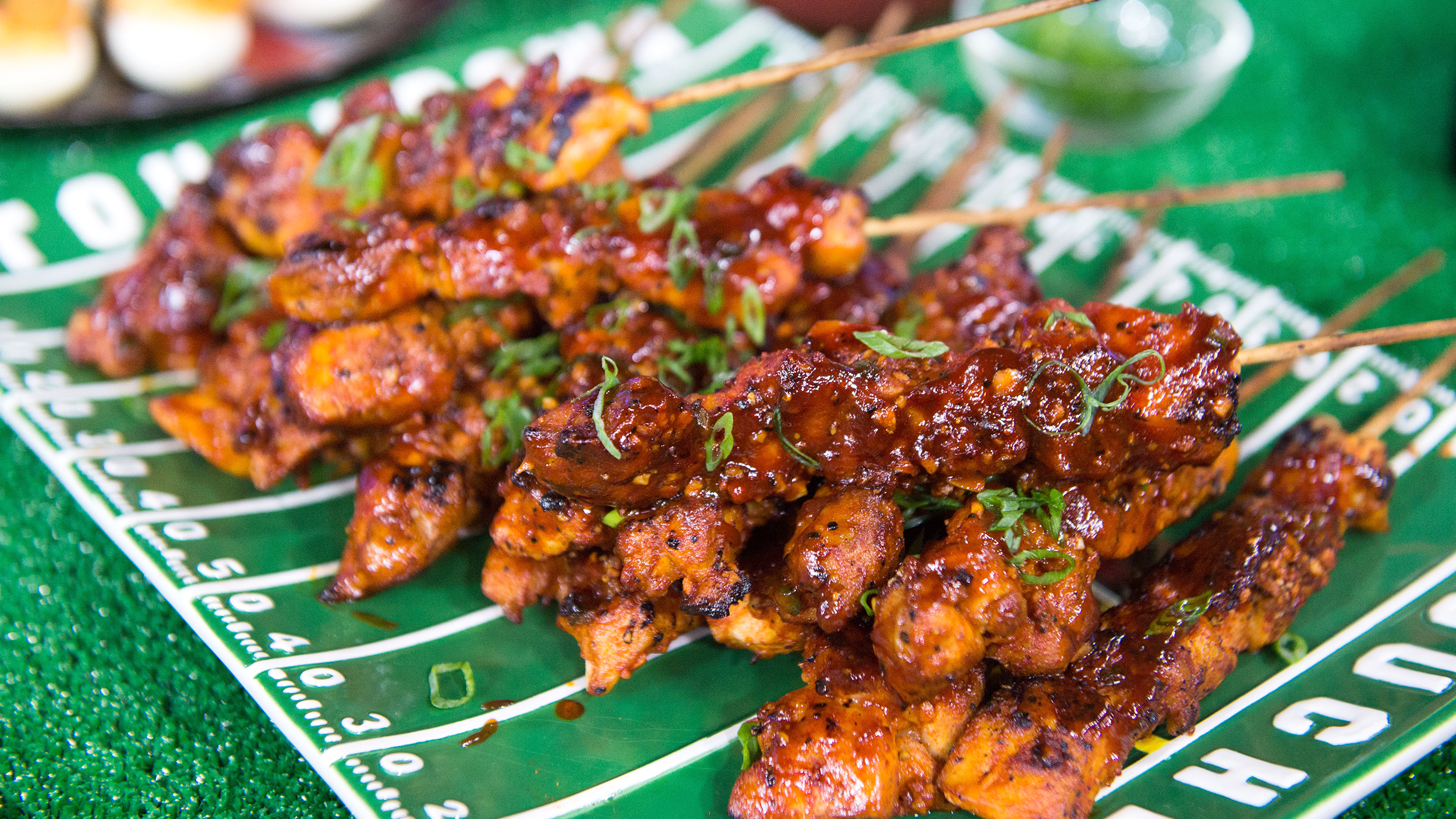 BBQ Cola Chicken Skewers - TODAY.com