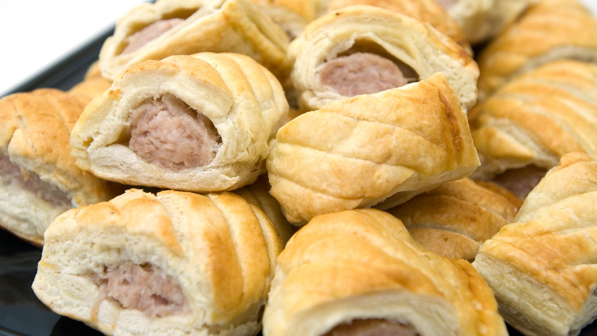 Turkey Sausage Rolls with Whole Grain Mustard Aioli ...