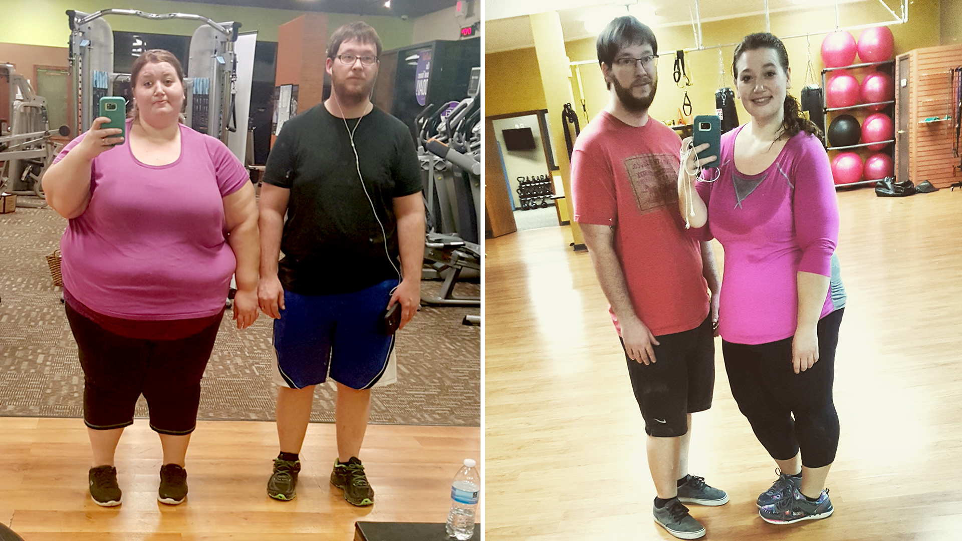 Couple Loses 298 Pounds Combined In A Year With 3 Easy