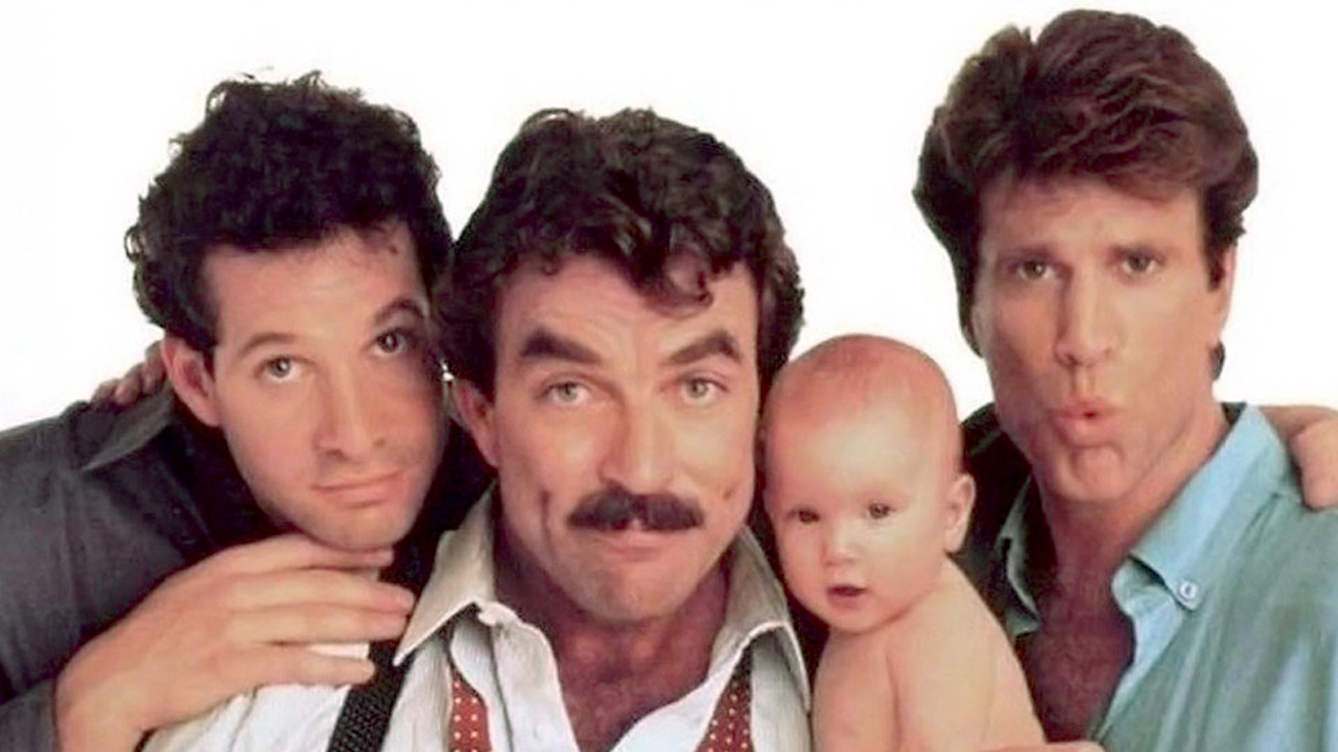 'Three Men and a Baby'…and a ghost? Tom Selleck addresses ...