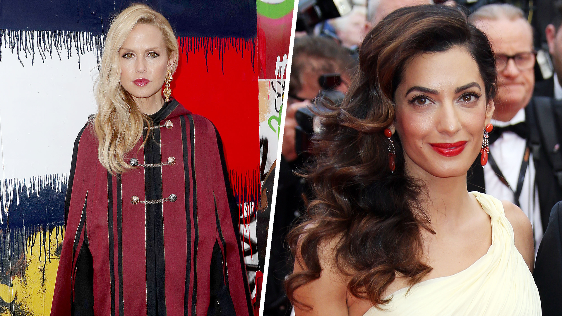 Amal Clooney Pregnant With Twins Rachel Zoe Shares Maternity Style Tips