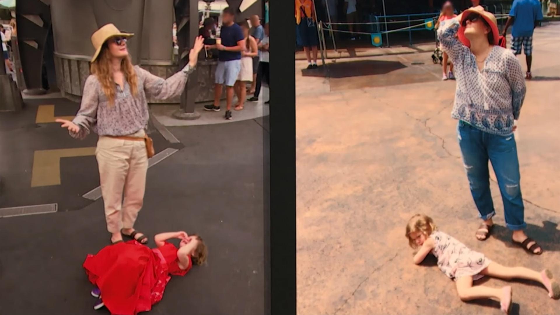 Foto: Ketika Kate Middleton dan Drew Barrymoore Hadapi Anaknya yang Tantrum