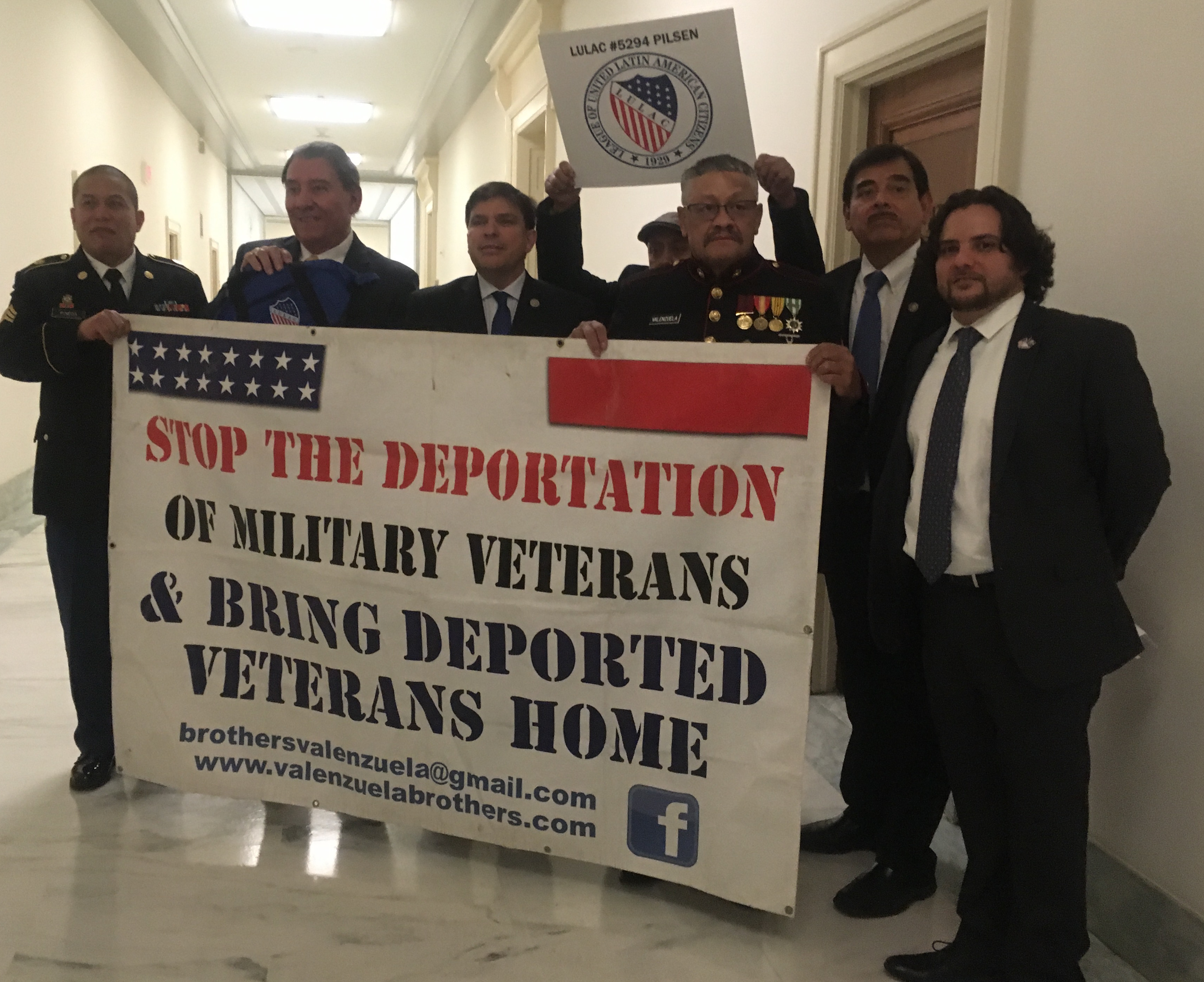 Image result for photos of us military immigrants being deported