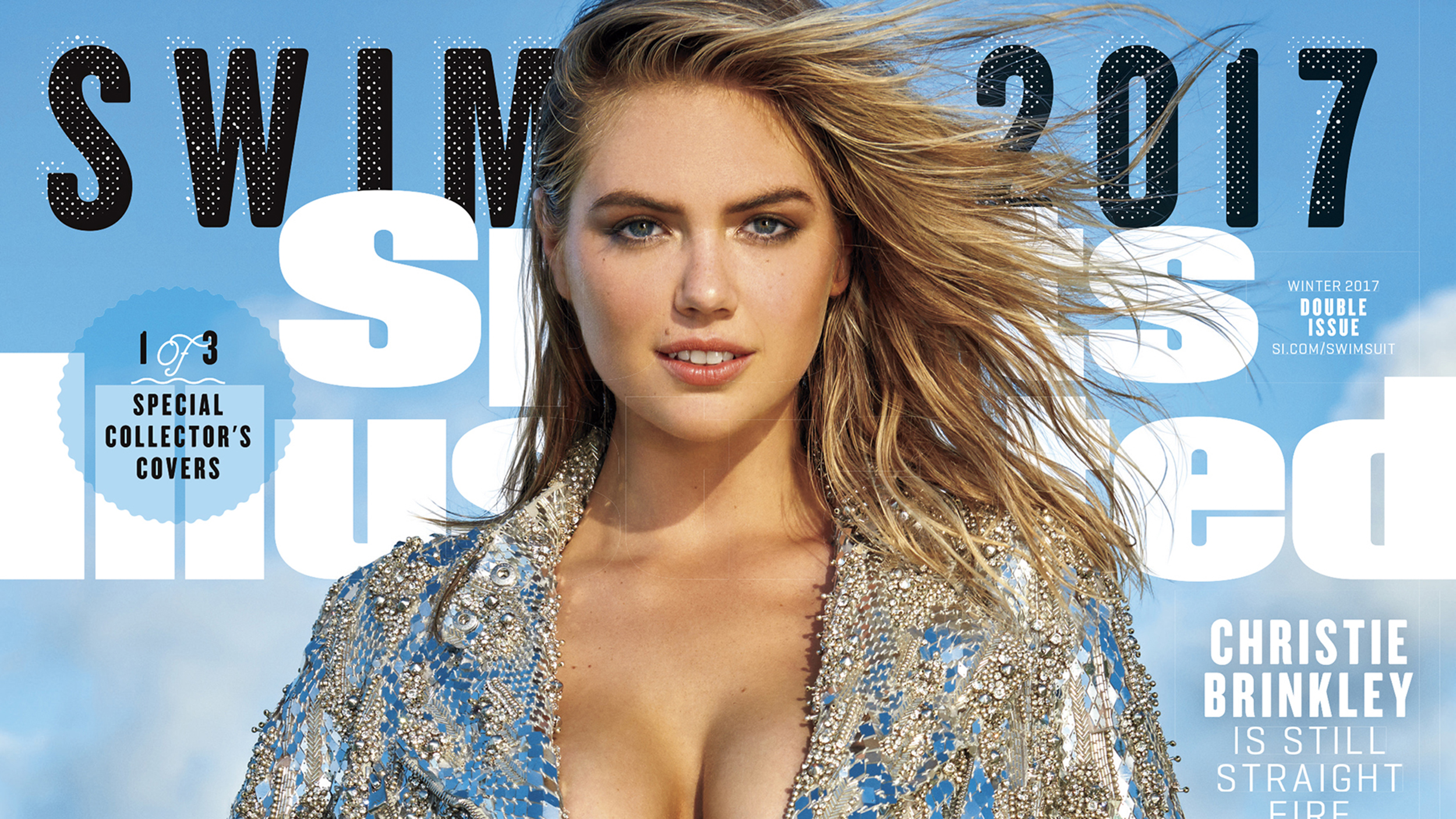 Kate Upton on cover of 2017 Sports Illustrated swimsuit ...