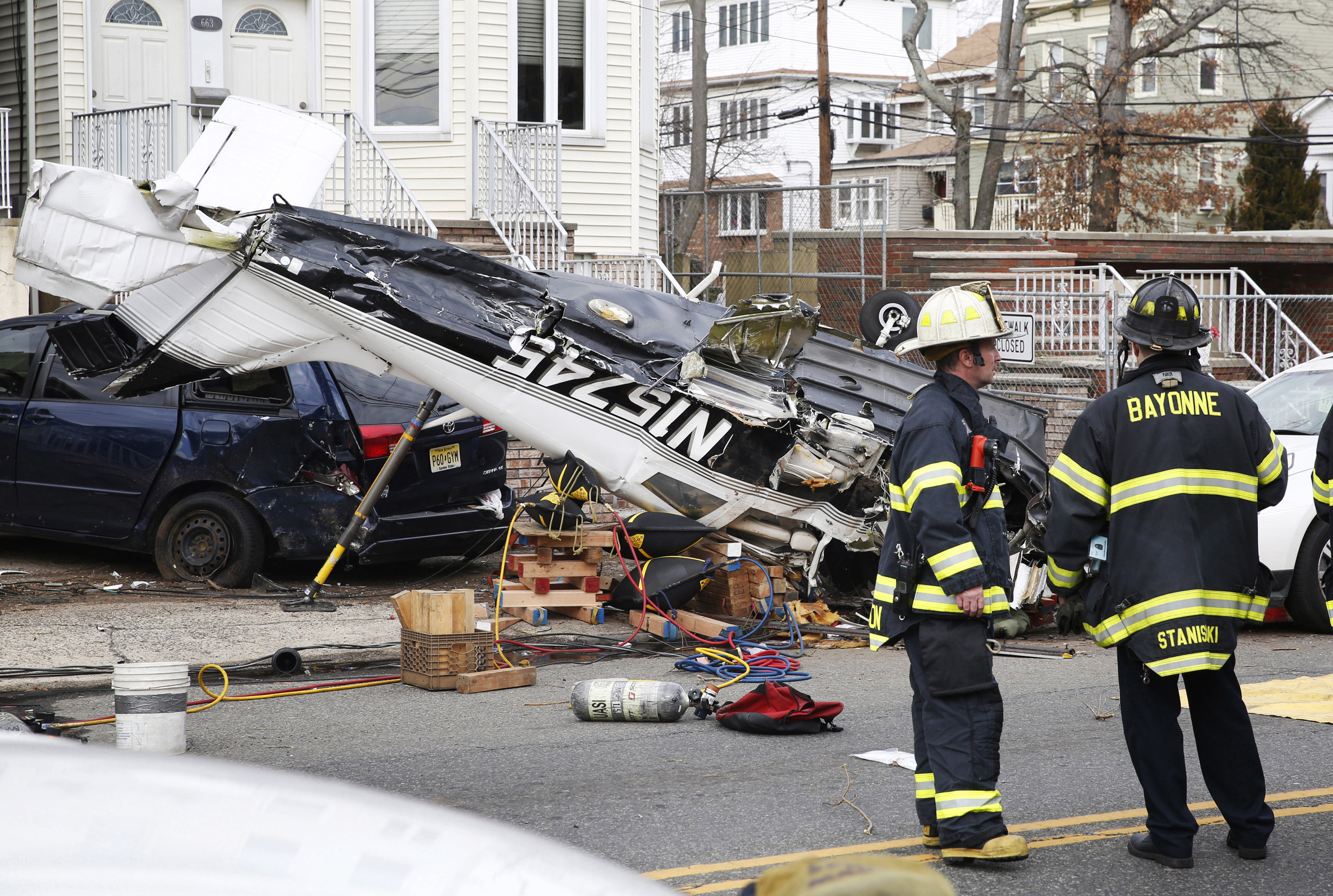 Small Plane Crashes in New Jersey With Pilot Trapped Inside Cockpit: Officials