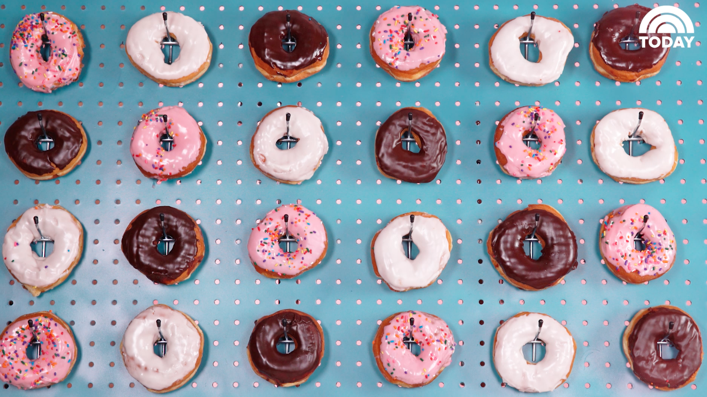 how to make a doughnut wall. Black Bedroom Furniture Sets. Home Design Ideas