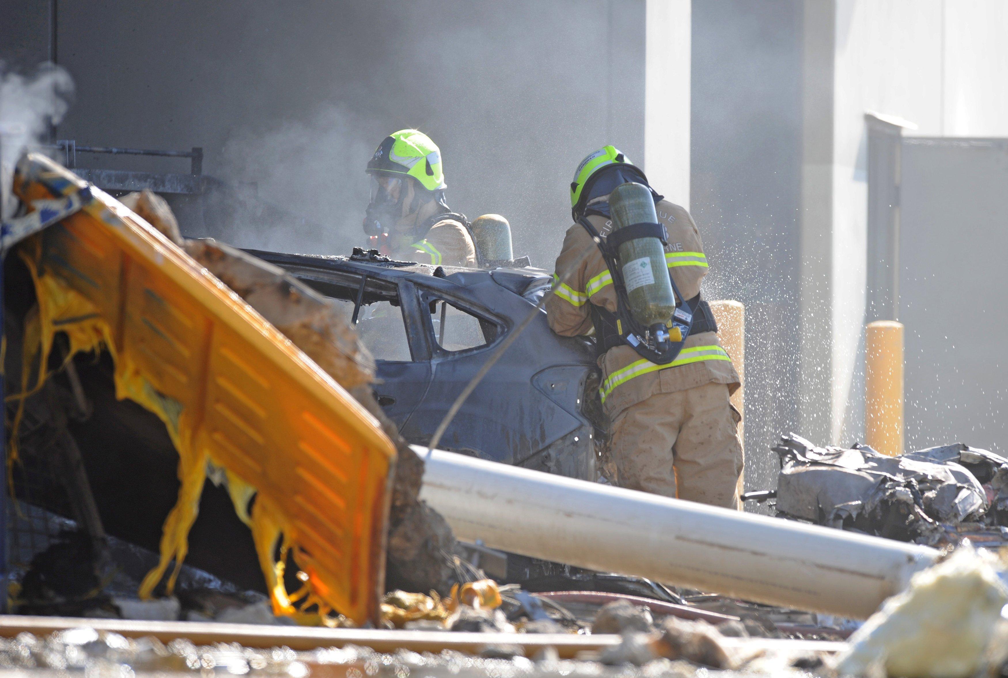 Four Americans Killed as Plane Crashes Into Australian Shopping Mall