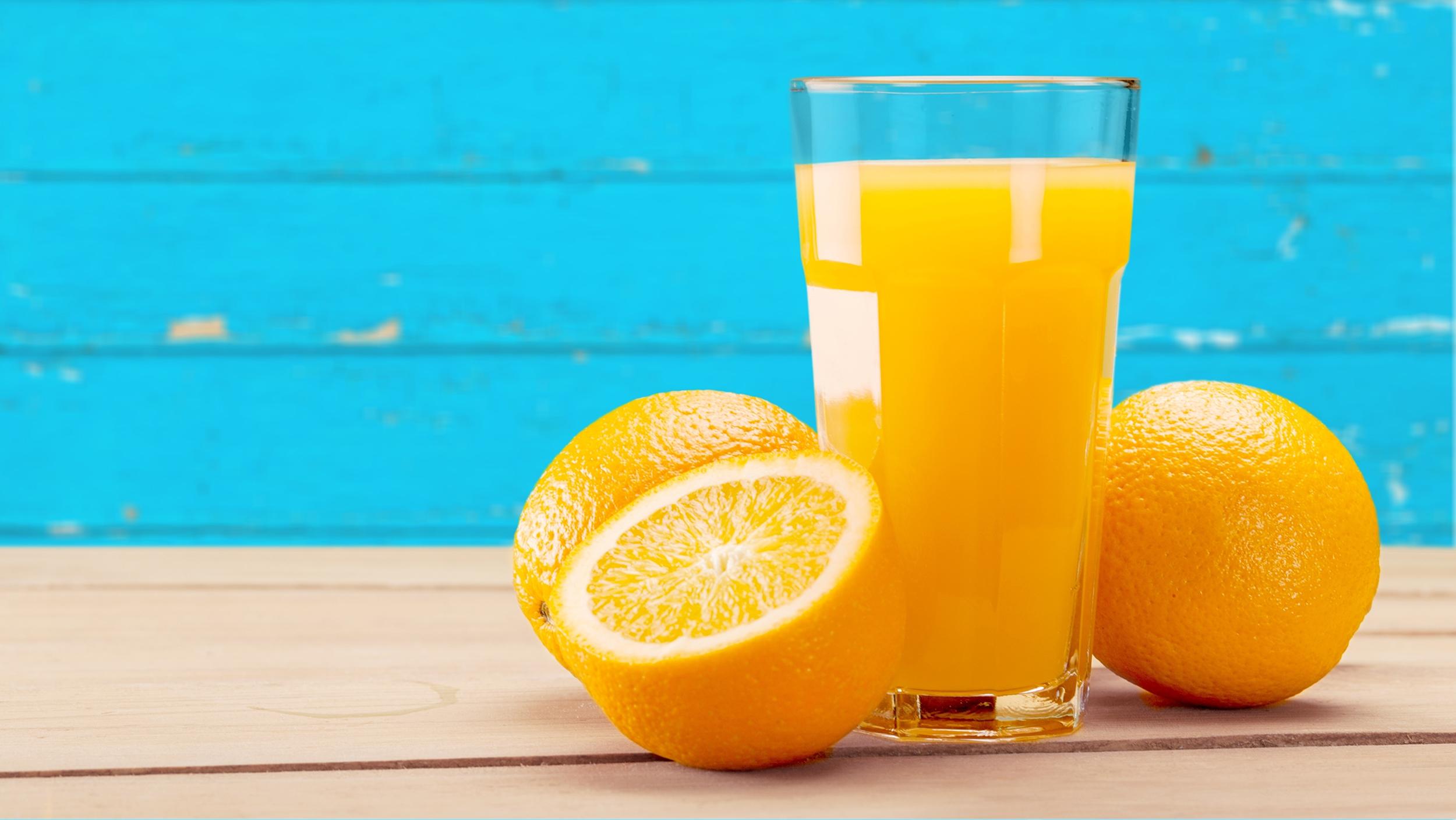 orange juice five forces