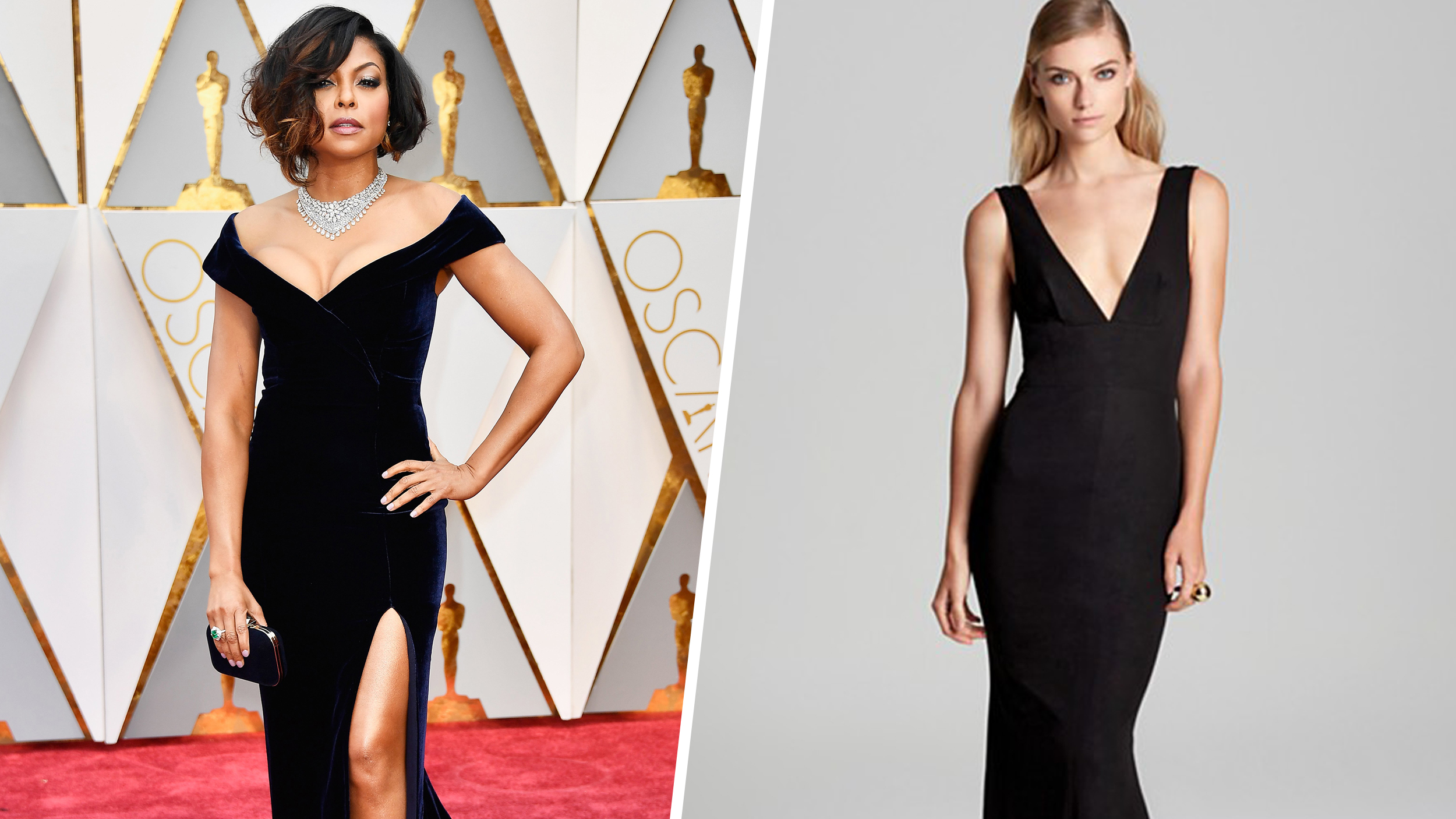 Oscars 2017 red carpet looks for less: Taraji P. Henson, Dakota Johnson