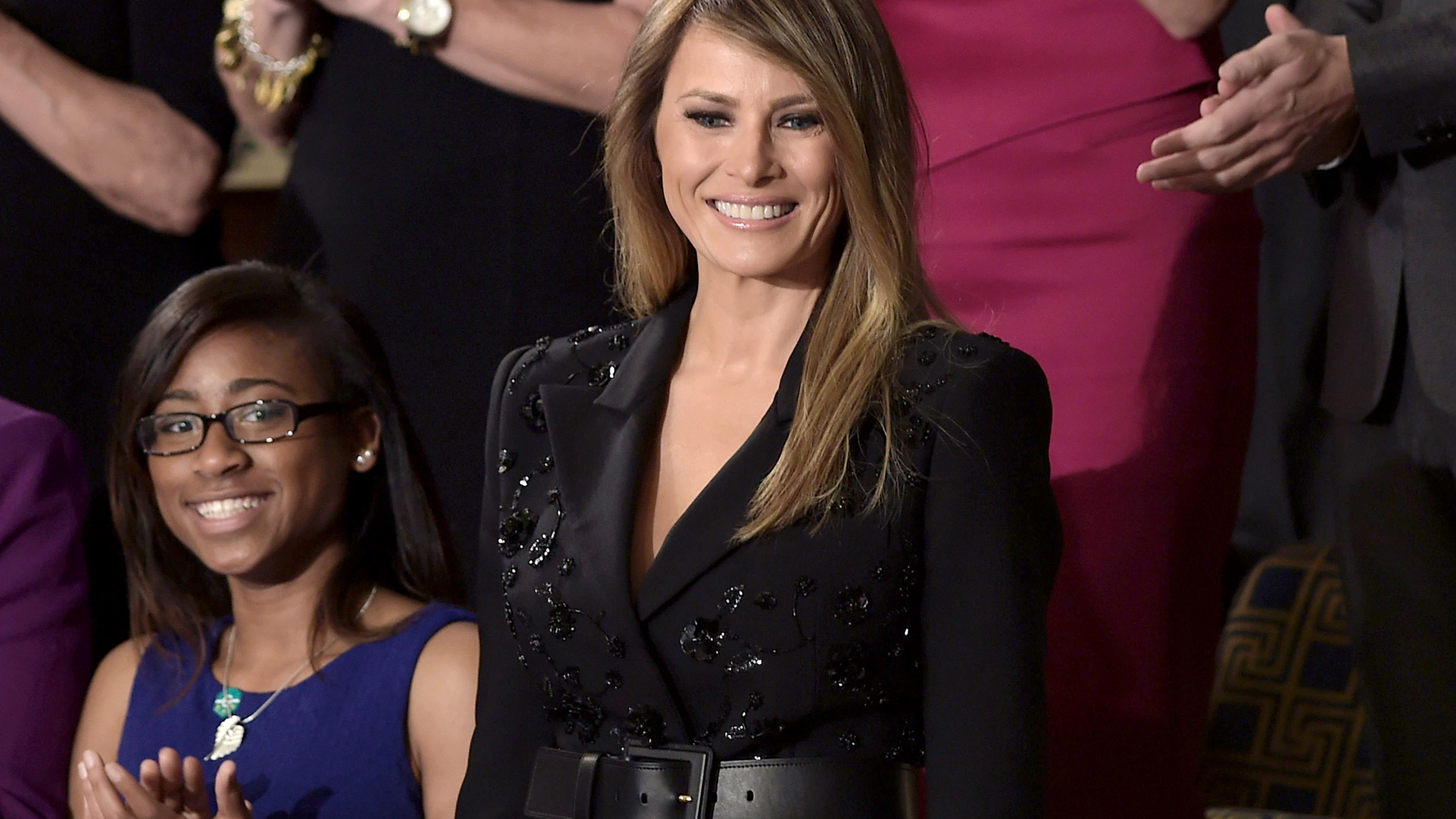 Melania Trump's joint session speech suit was full of ...