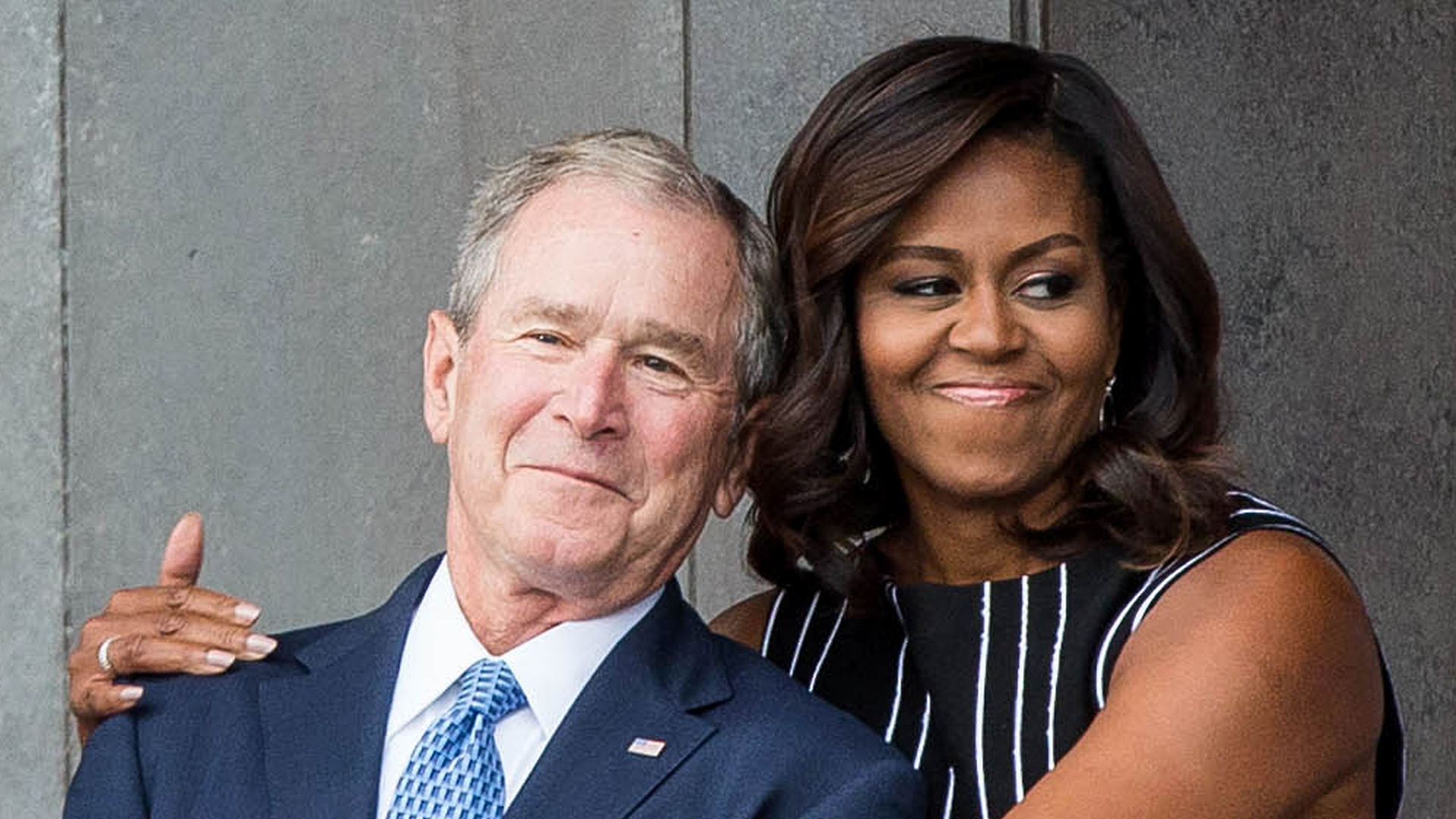 George W. Bush says friendship with Michelle Obama ...