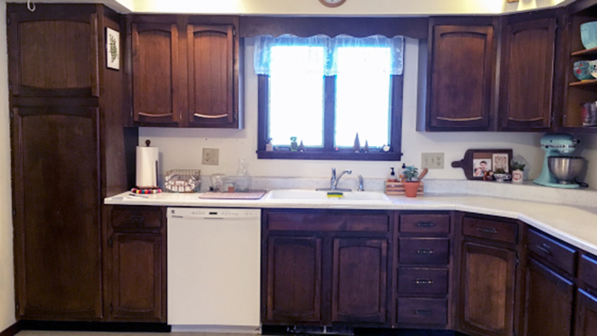 Kitchen makeover for less than $250