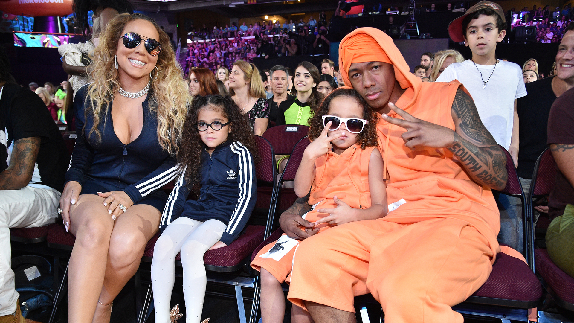 Mariah Carey And Nick Cannon Match Their Twins At Kids ...