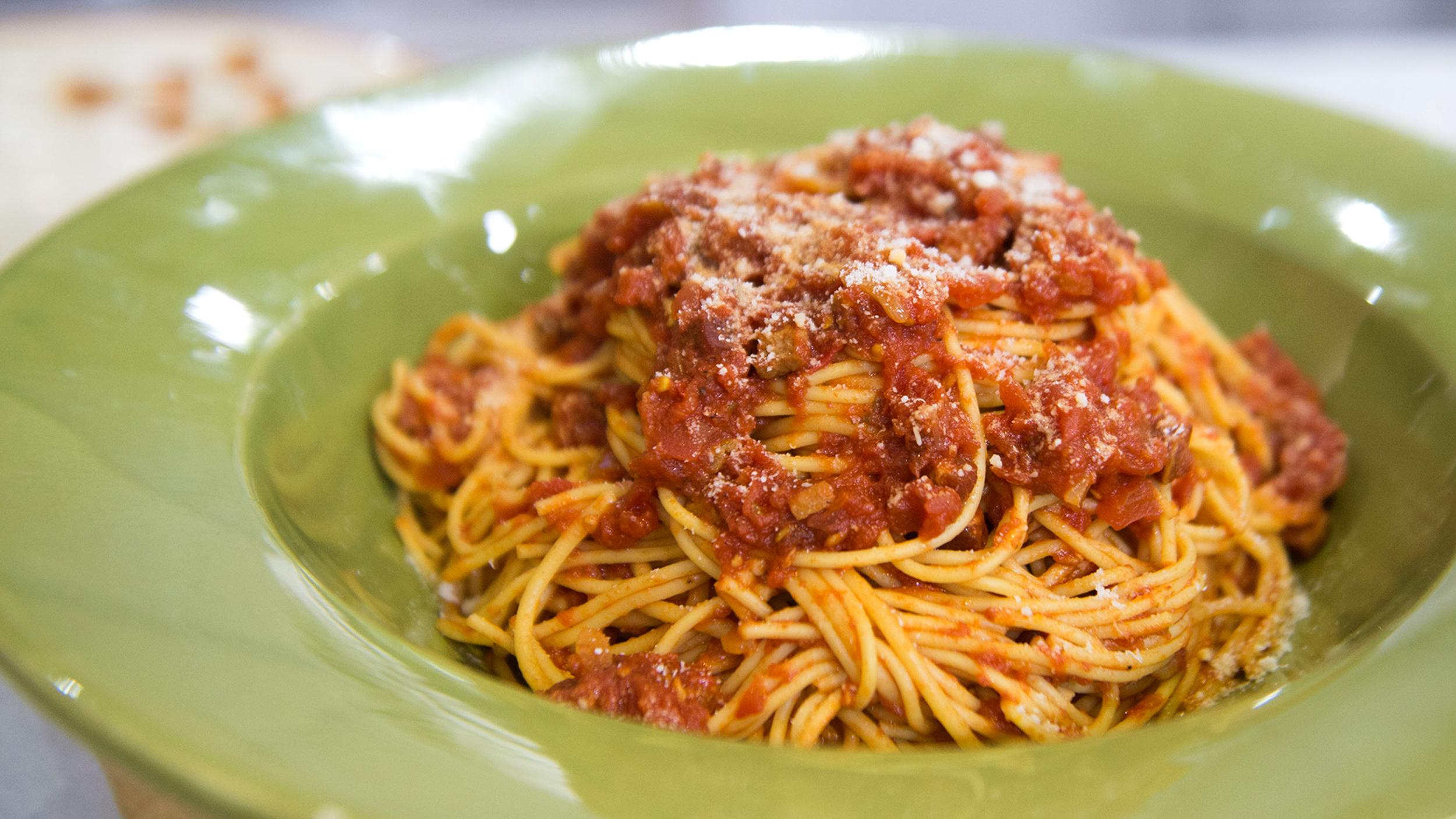 Good Food Spaghetti Recipes
