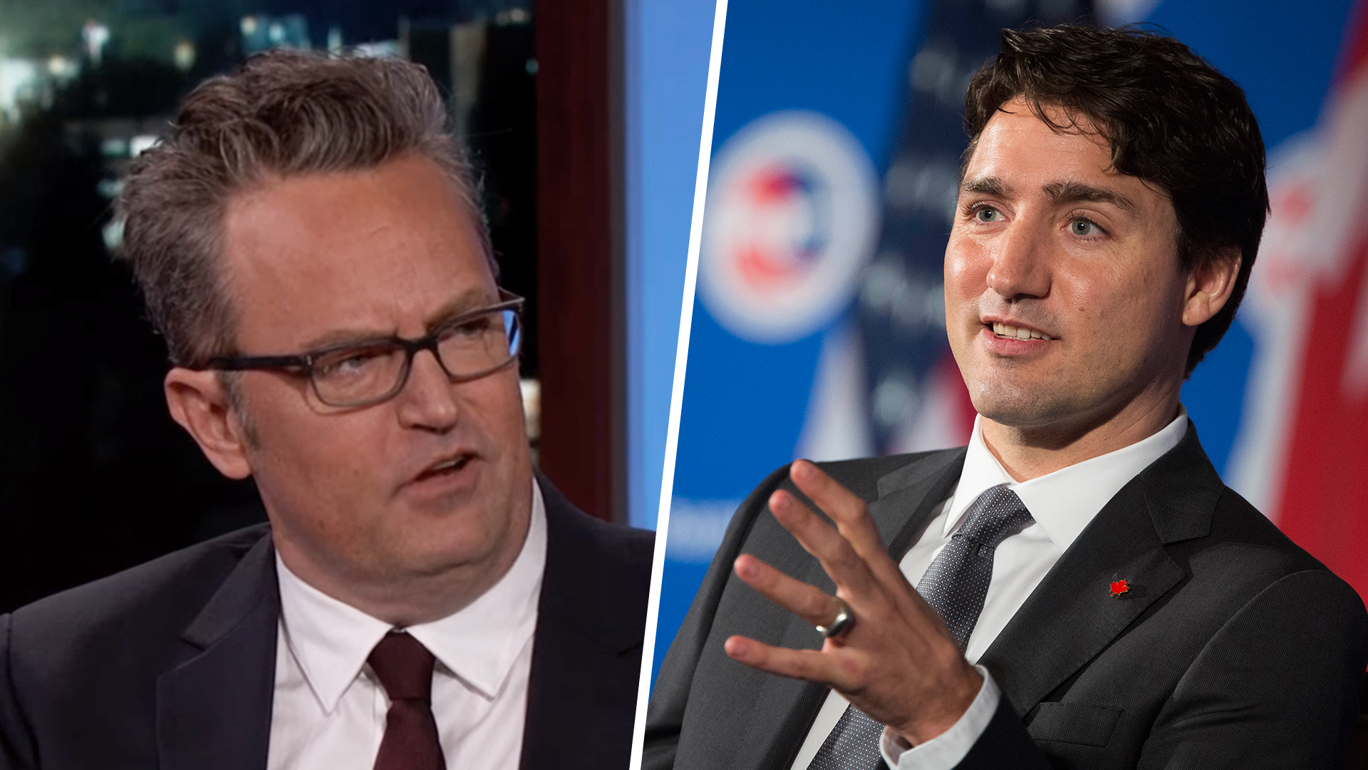 Justin Trudeau Challenges Matthew Perry To Rematch