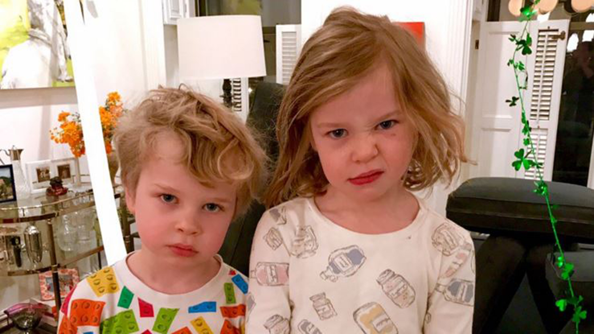Neil Patrick Harris' twins had a pretty awful St. Patrick ...