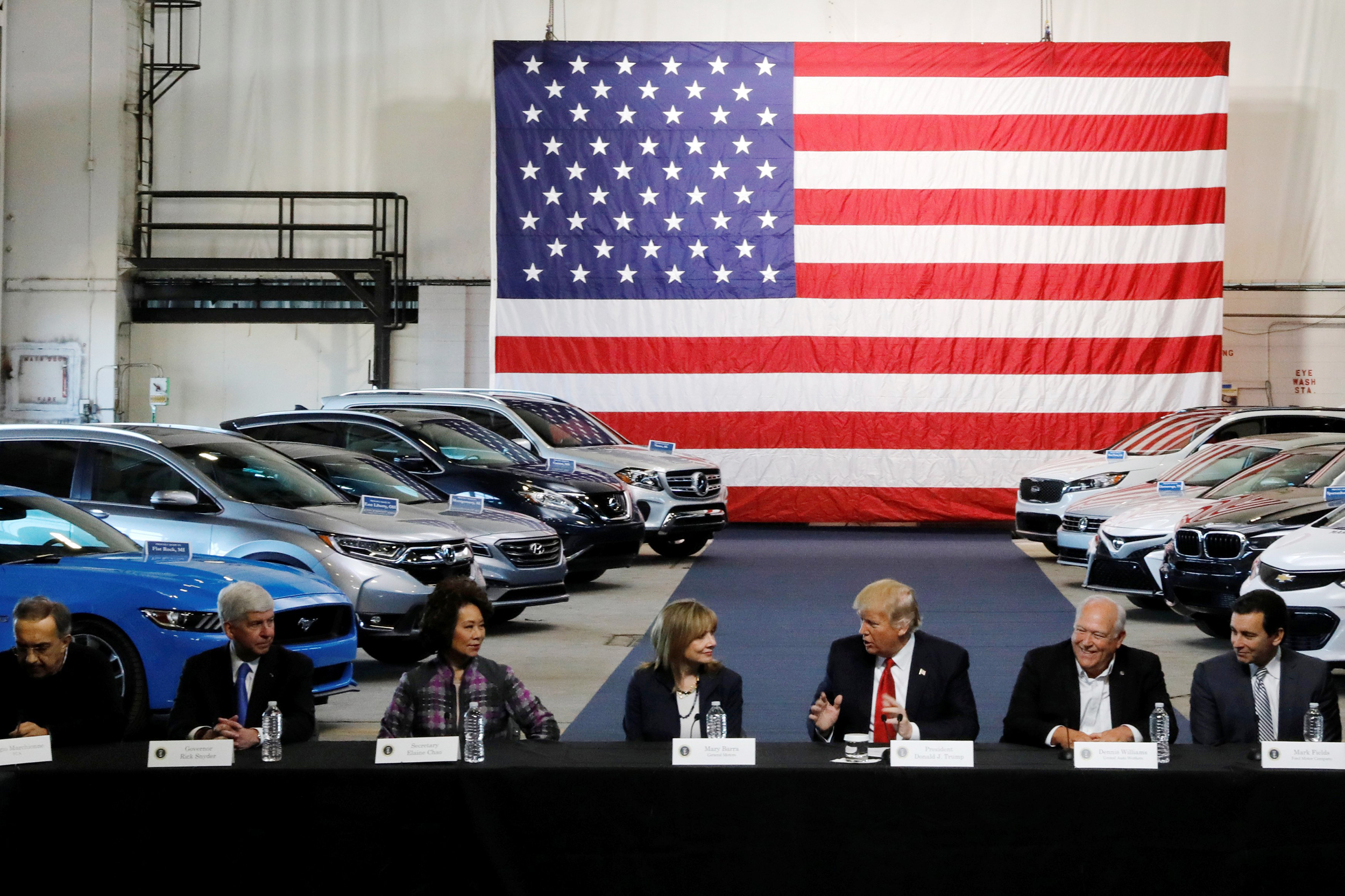 Tariffs may wind up hurting Trump voters most of all warn automakers