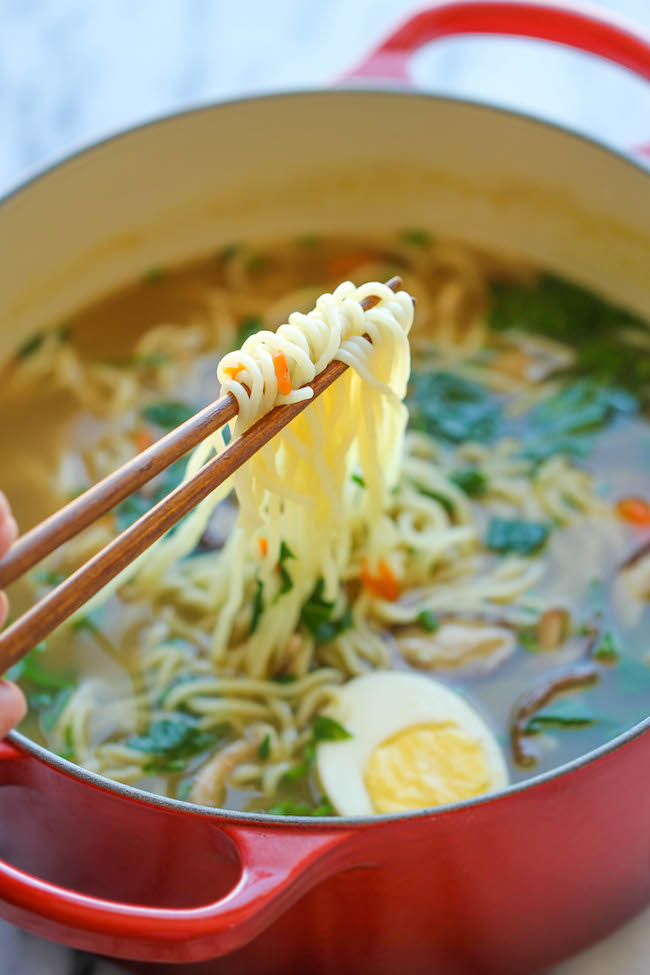 Image: Easy homemade ramen
