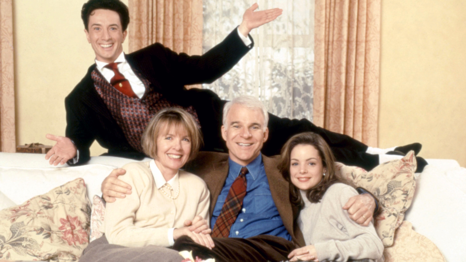 Father Of The Bride Stars Steve Martin Short And Kimberly Williams Paisley Reunited