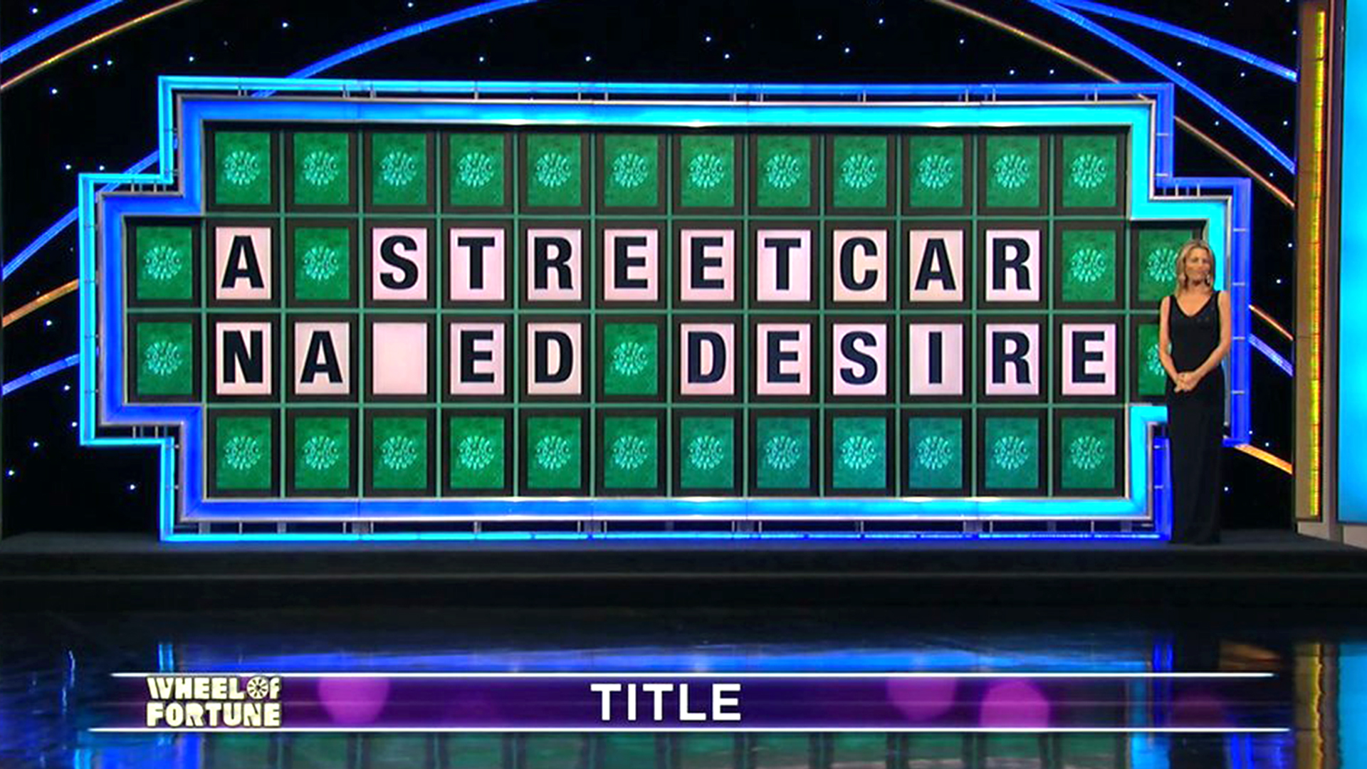 39 wheel of fortune 39 contestant 39 s 39 streetcar named desire 39 flub may be the worst of all time. Black Bedroom Furniture Sets. Home Design Ideas