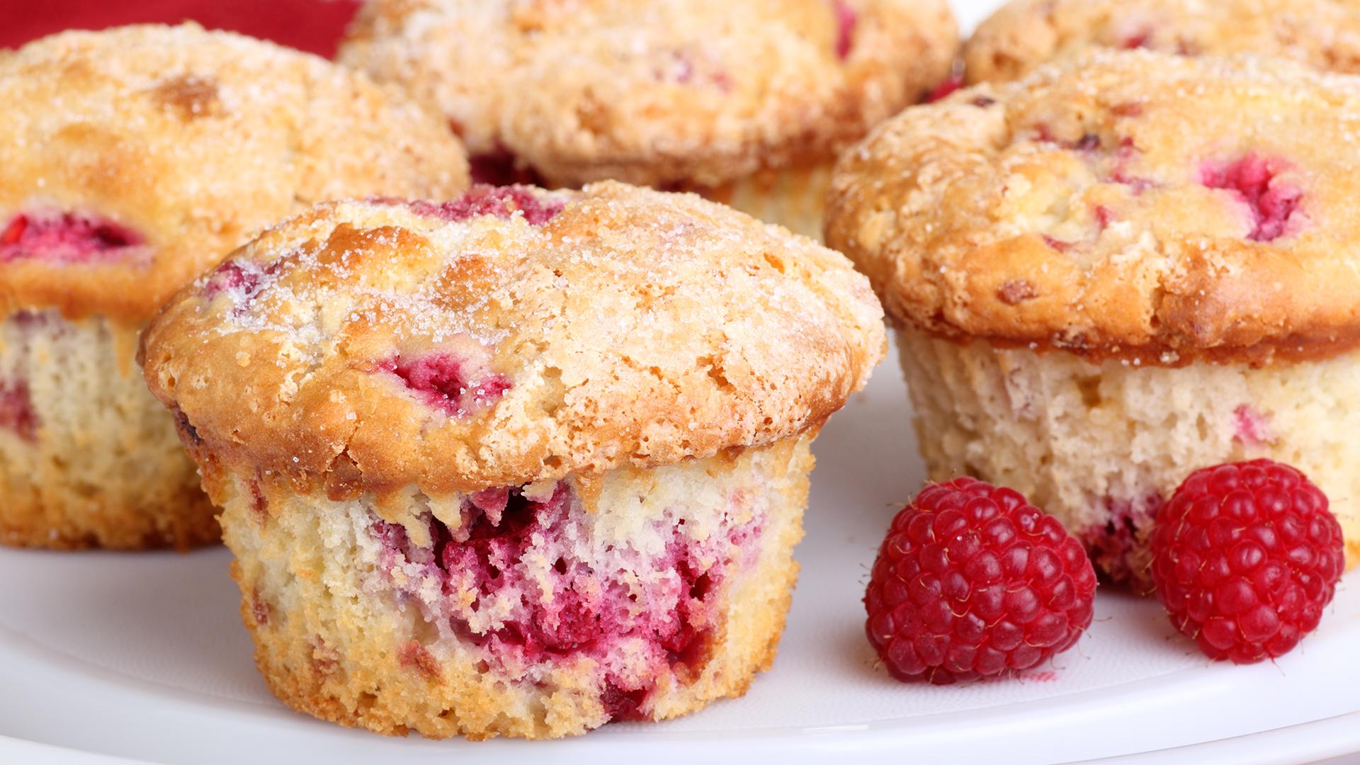 Raspberry Rhubarb Muffins - TODAY.com