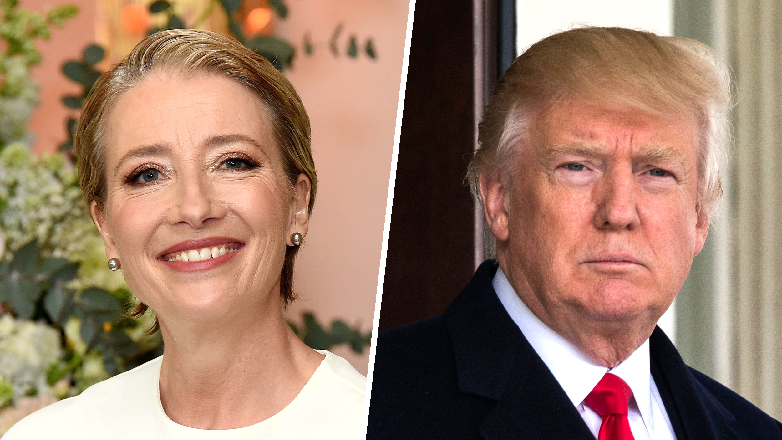 Emma Thompson reveals Donald Trump once asked her on a date