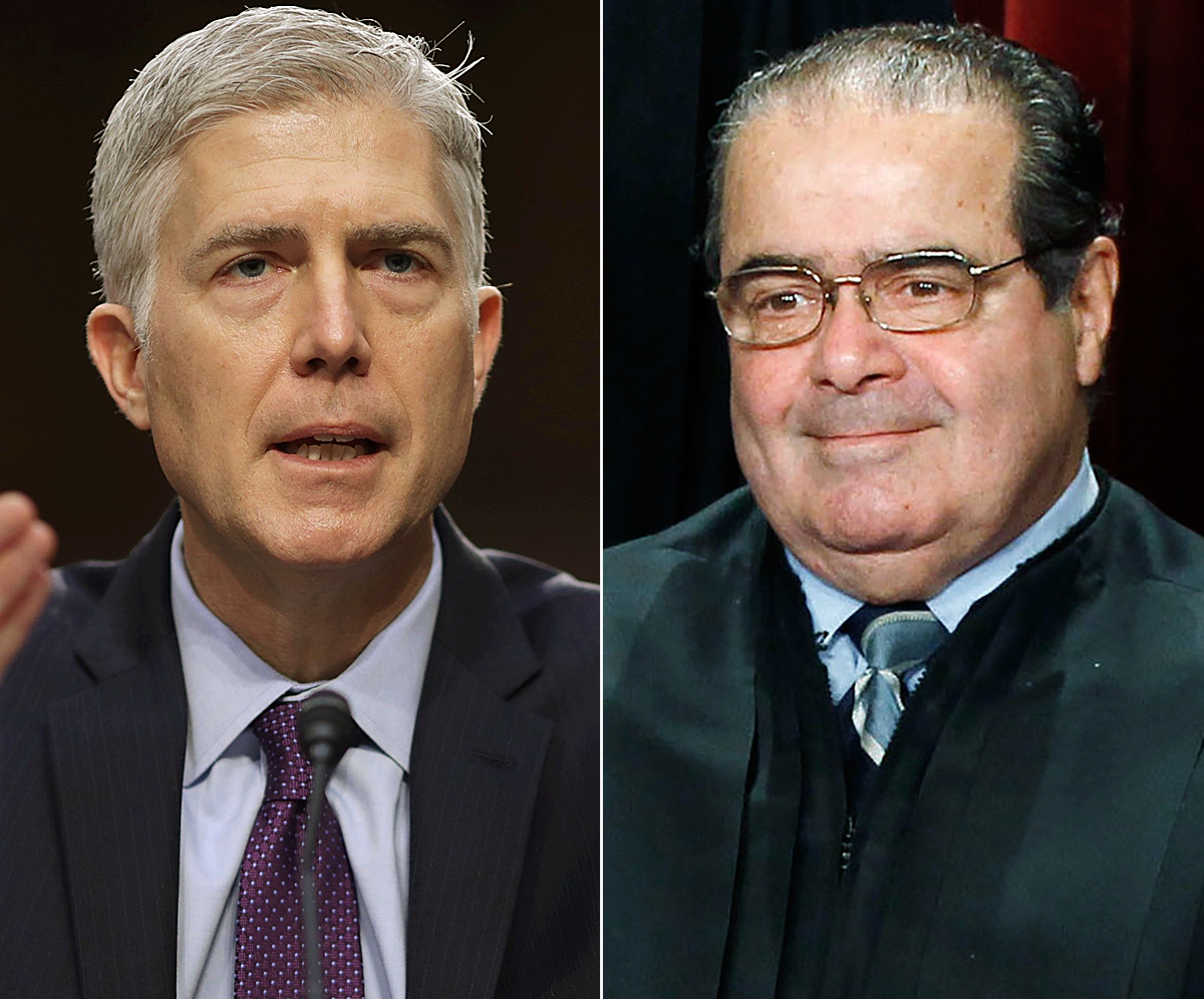 How Gorsuch Compares to Scalia, in One Chart