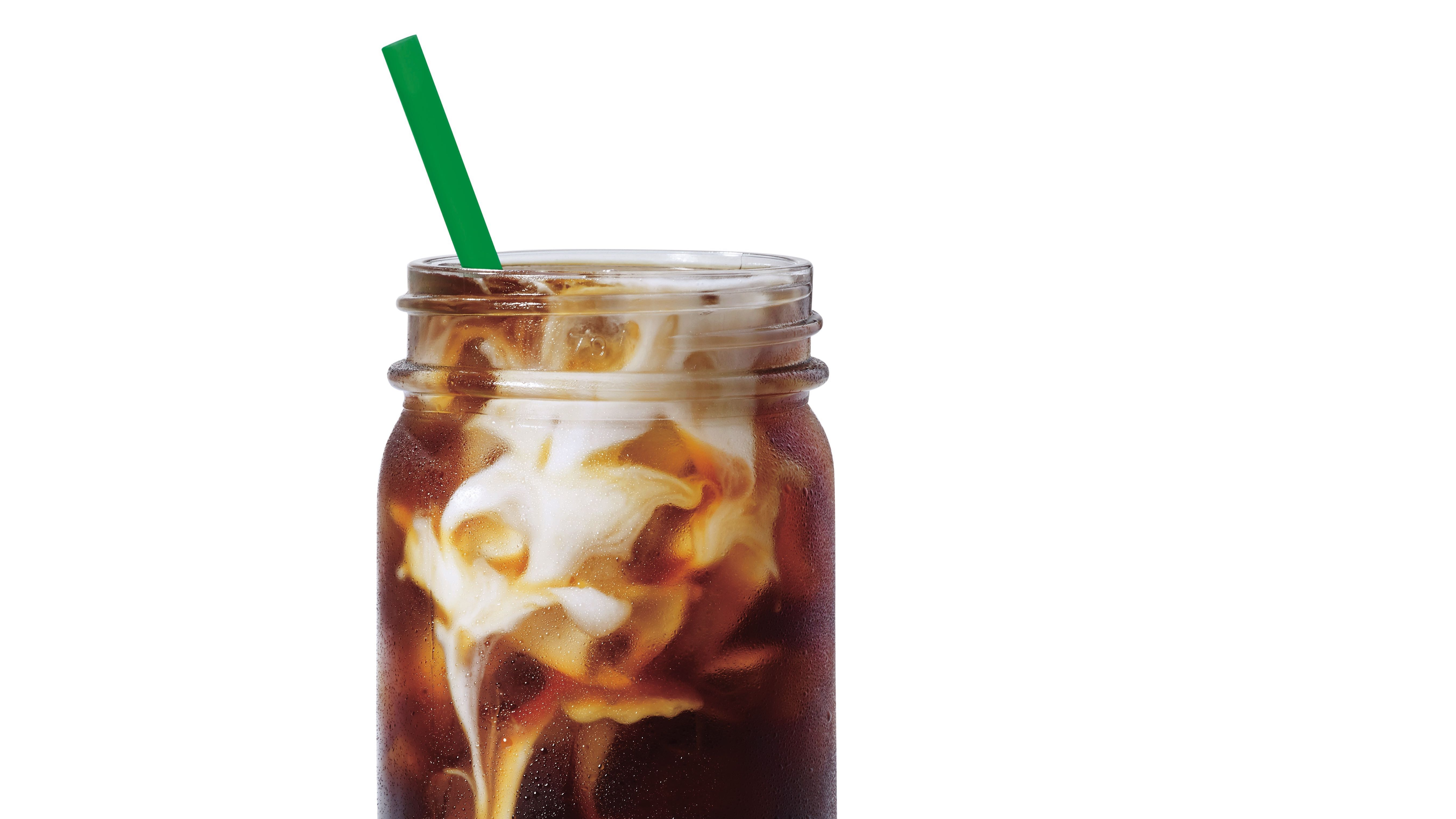 Combine coffee, sugar, milk and chocolate syrup. Add Ice cubes, top with whipped cream and cookie crumbs. You can make this Copycat Starbucks Iced Mocha at home for about 50c per cup (depending on the price of your coffee grounds).