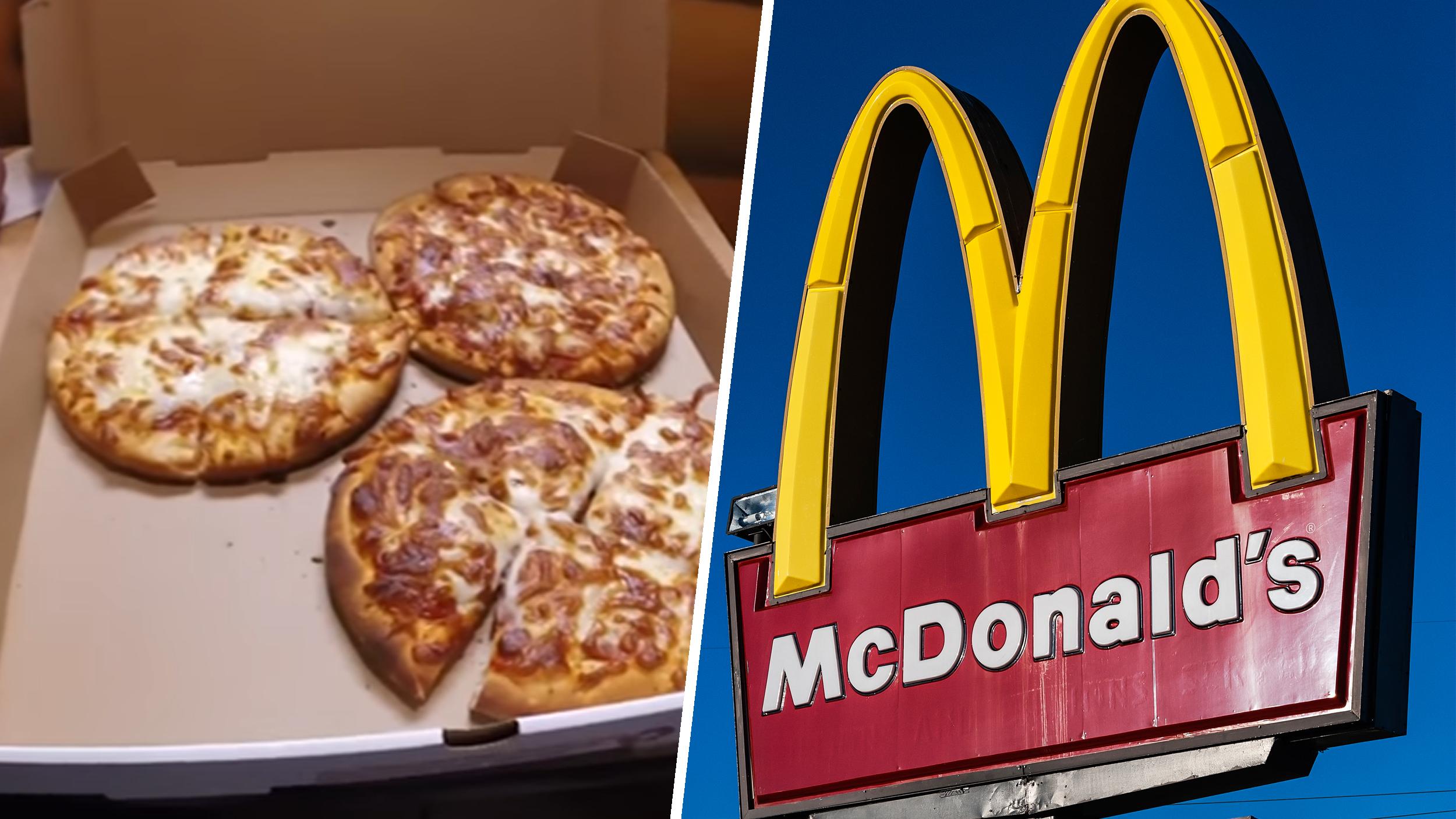 mcdonald s still makes pizza in 2 locations