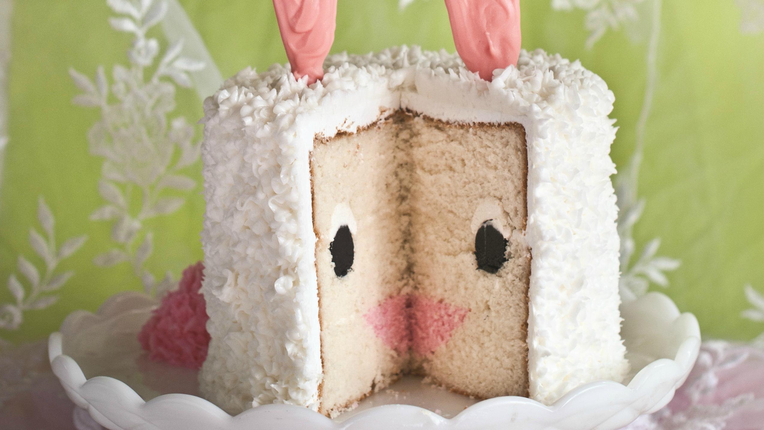 Easter Bunny Cake Today Com