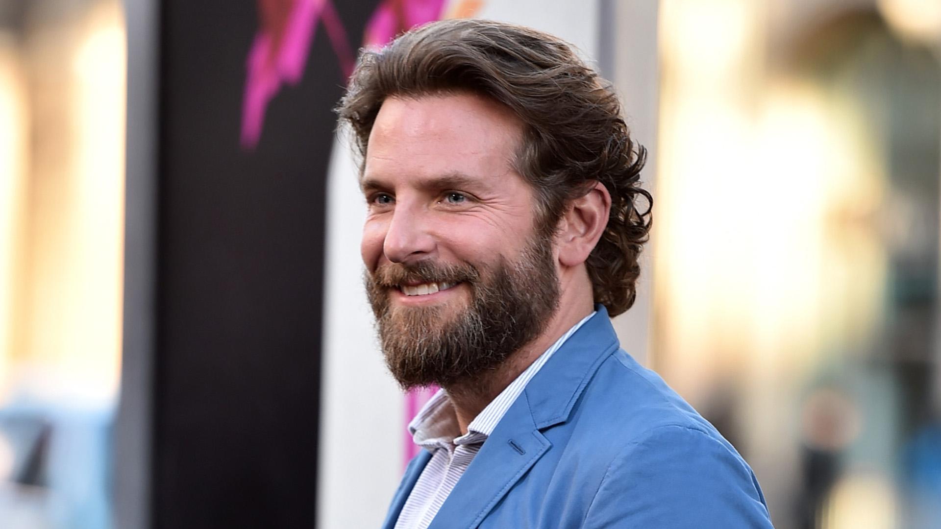 Bradley Cooper's man bun is back — see the look!
